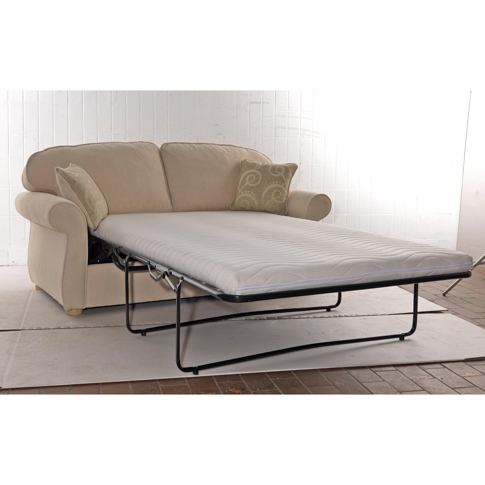 Folding Ottoman Guest Bed Sleeper With Mattress Amp