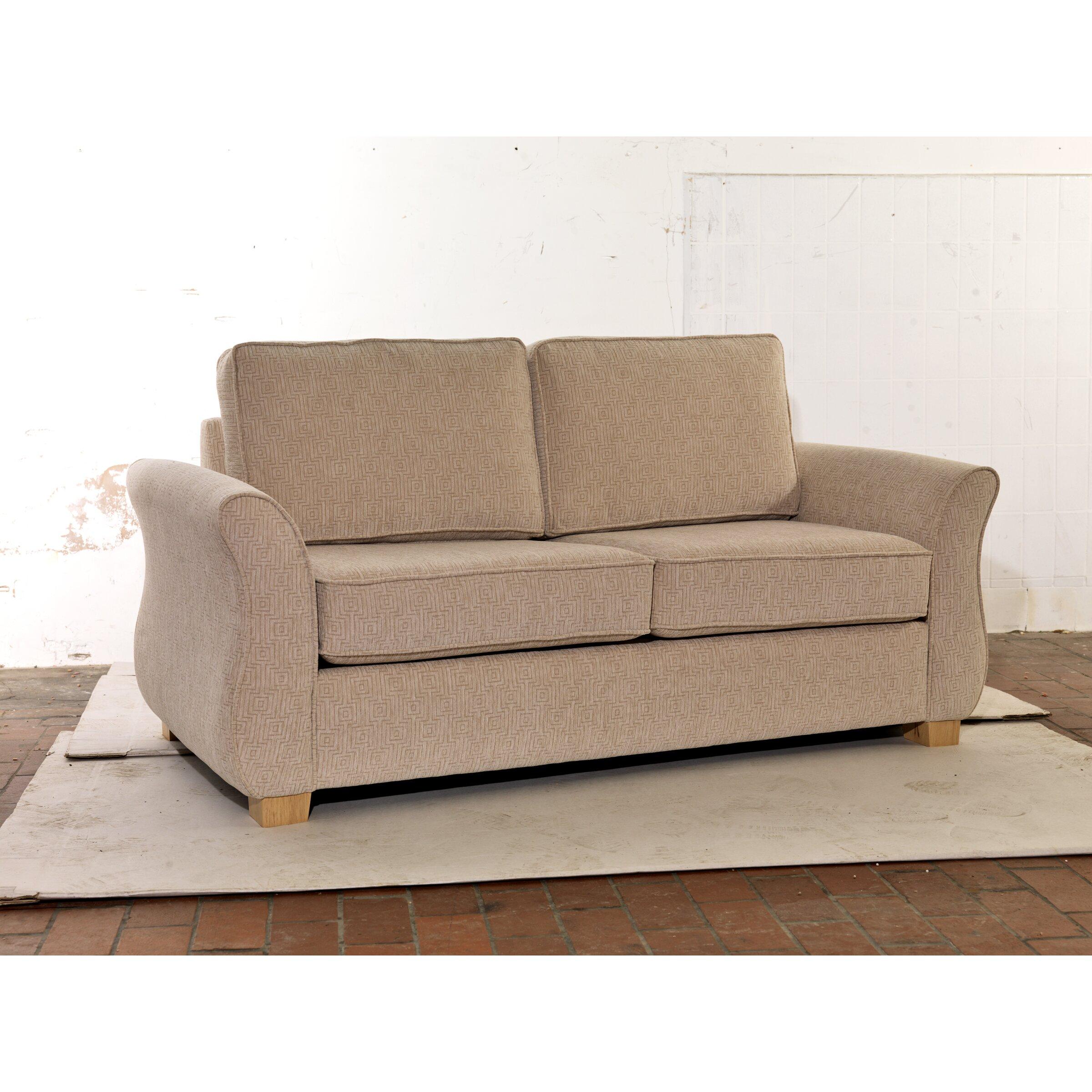 Uk Icon Design Egginton 2 Seater Fold Out Sofa Wayfair Uk