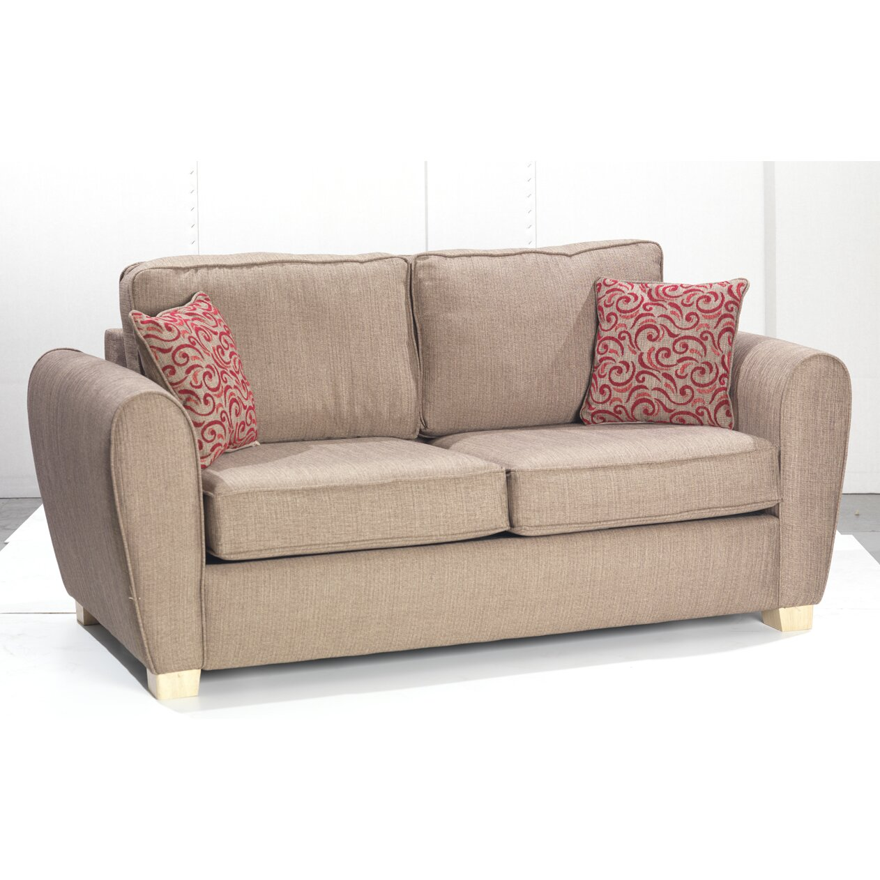 Uk Icon Design Italy 3 Seater Fold Out Sofa Wayfair Uk