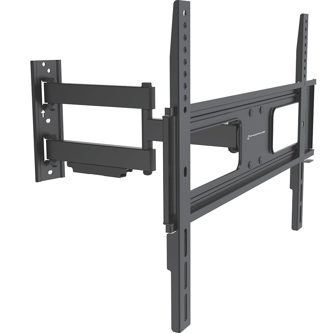 gforce full motion tv wall mount for 37 70 flat panel screens reviews wayfair. Black Bedroom Furniture Sets. Home Design Ideas
