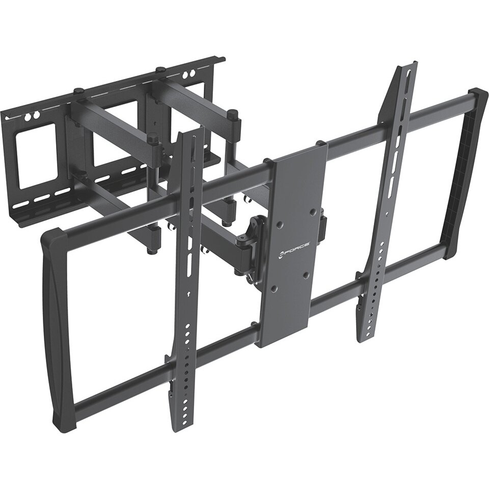 gforce full motion tv wall mount for 60 100 flat panel. Black Bedroom Furniture Sets. Home Design Ideas
