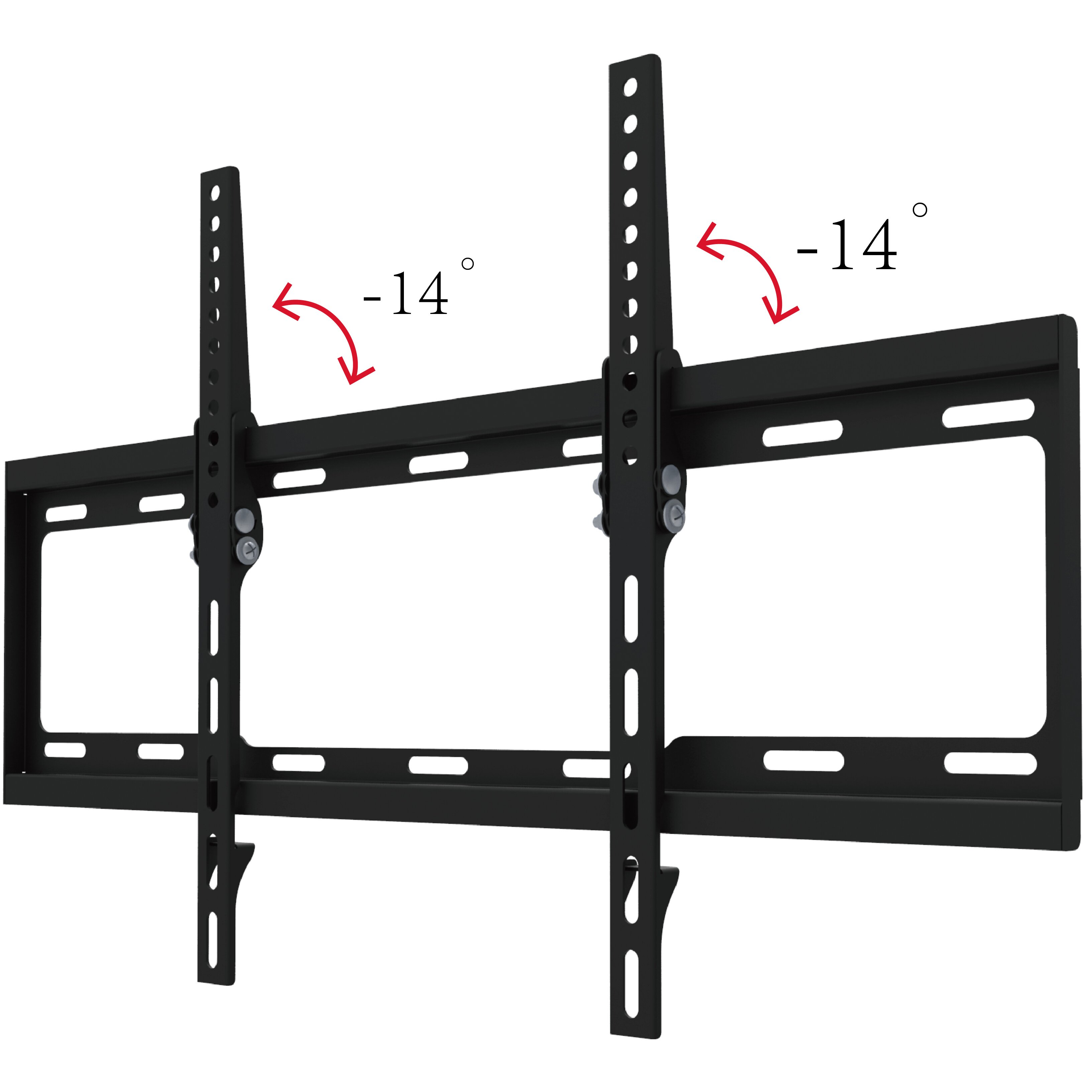 Gforce Tilt Tv Wall Mount Universal For 37 70 Flat Panel