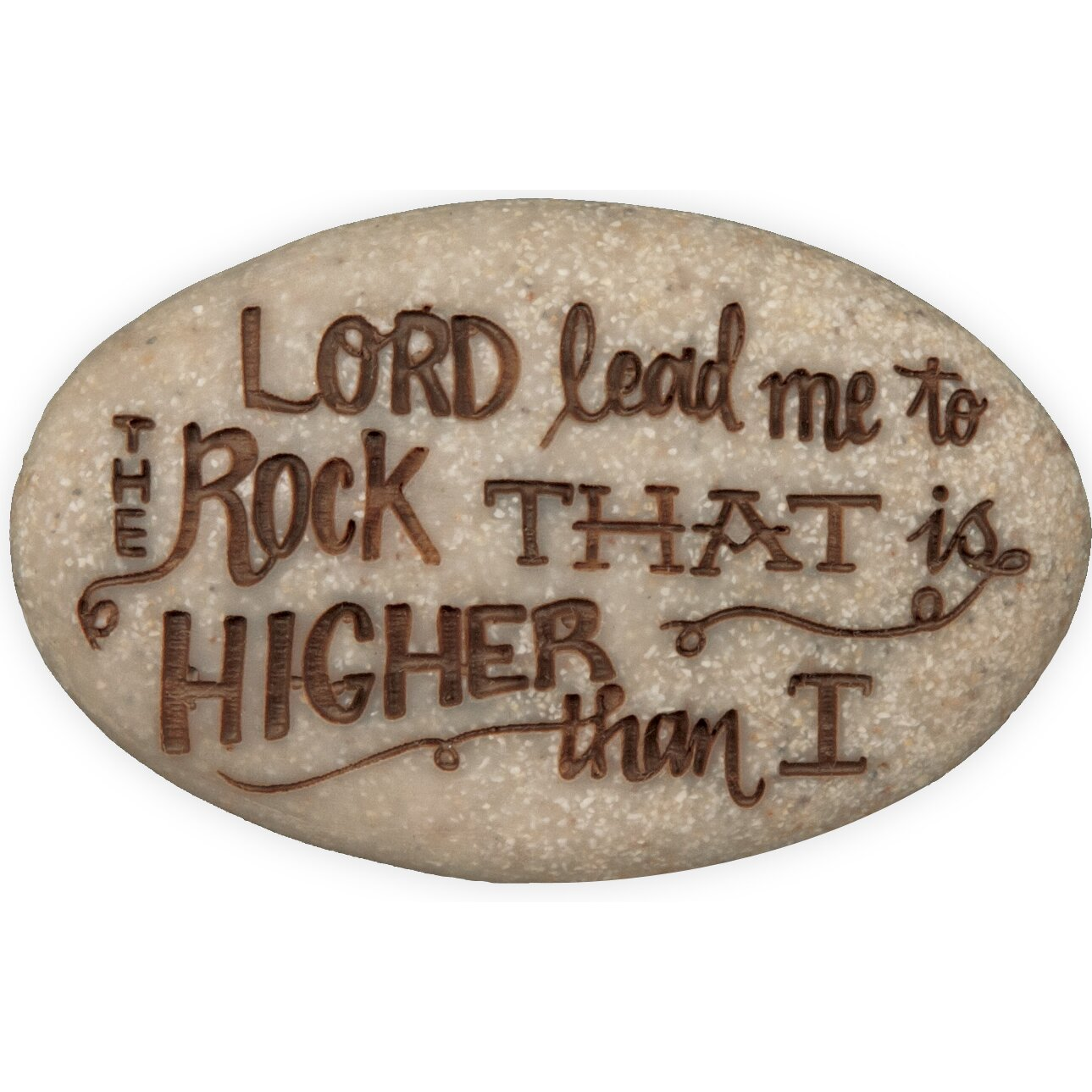 Angelstar psalm 61 2 decorative stone reviews wayfair for Decorative rocks for sale near me