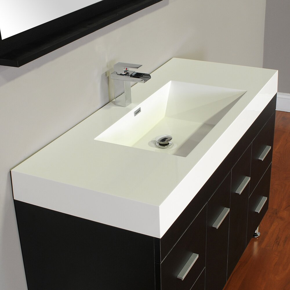 Alya Bath Ripley 47 Single Modern Bathroom Vanity Set