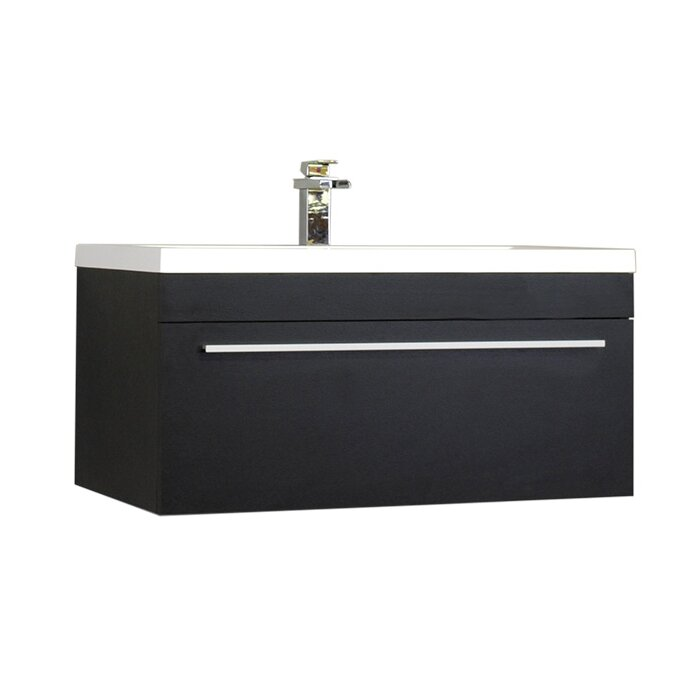 Alya Bath Ripley 36 Single Modern Bathroom Vanity Set