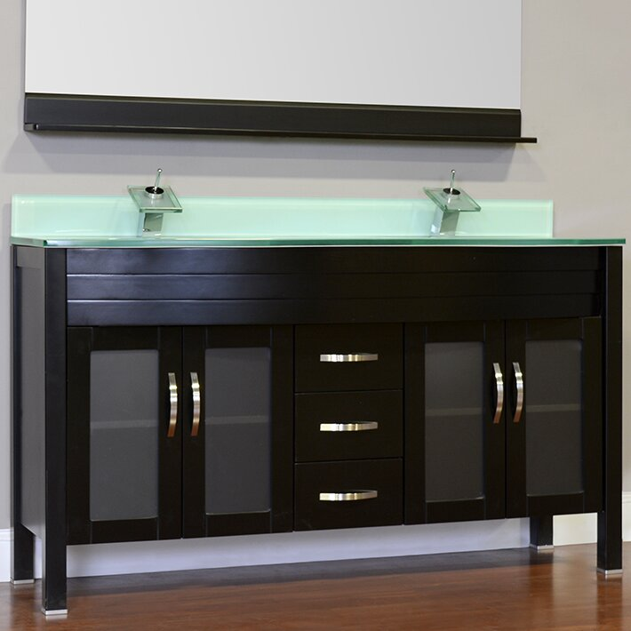 Double Glass Vanity Light : Alya Bath Elite 72