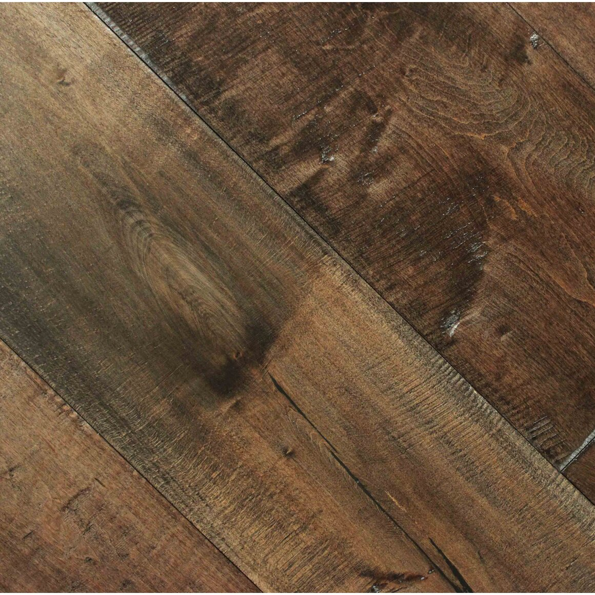 Albero valley farmhouse 7 1 2 engineered maple hardwood for Maple hardwood flooring