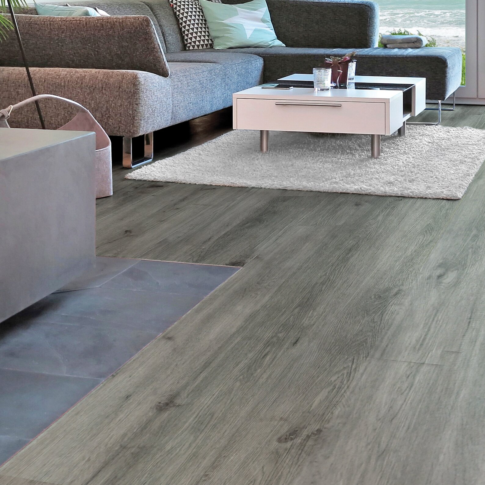 Albero Valley Seaside 7 Quot X 48 Quot 6 3mm Luxury Vinyl Plank In