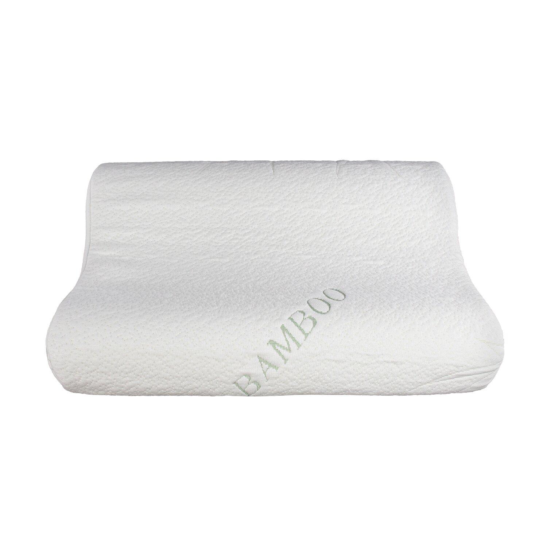 Sinomax Memory Foam Traditional Travel Pillow : Sinomax Natural Touch Bamboo Rayon Memory Foam Contour Pillow Wayfair