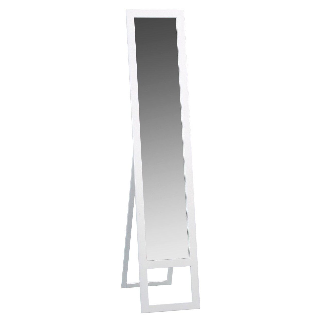 Hometrends4you vita standing mirror reviews wayfair uk for Standing glass mirror