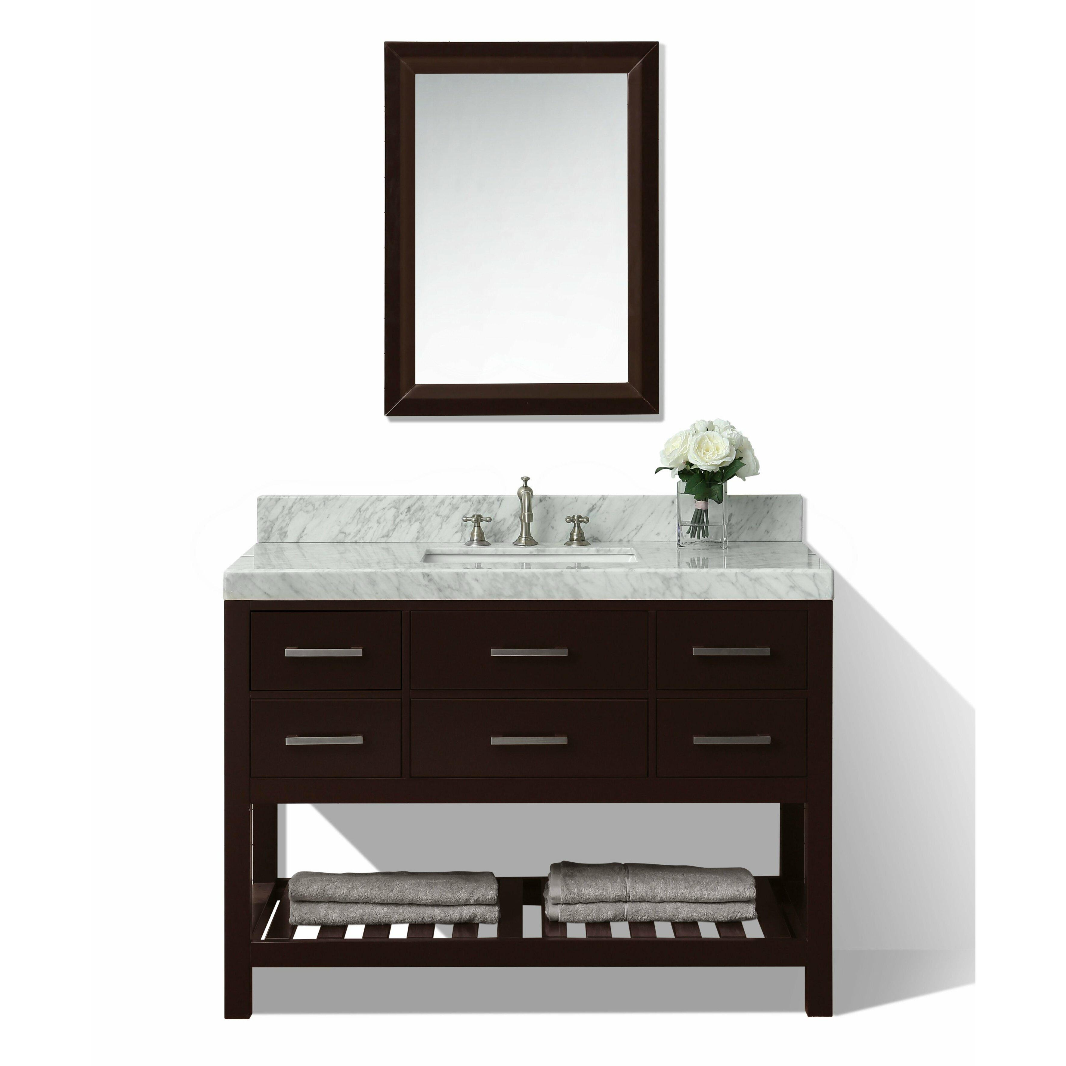 Ancerre Designs Elizabeth 48 Single Bath Vanity Set