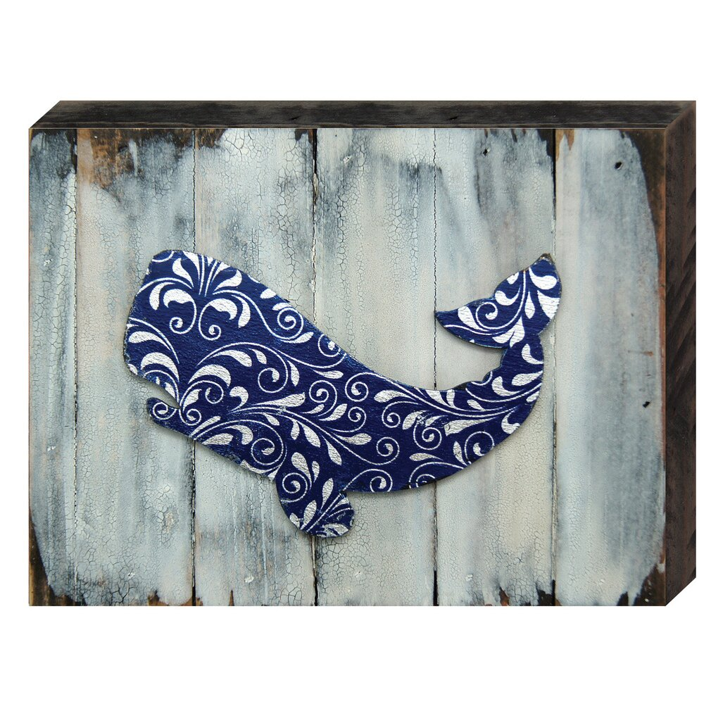 Wooden Board Wall Decor : Amonogramartunlimited nautical vintage whale wooden board