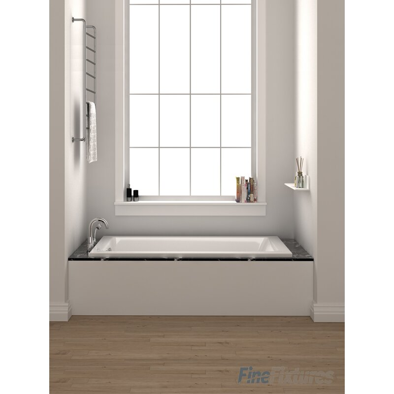 Fine Fixtures Drop In Or Alcove Bathtub 36 X 72 Soaking
