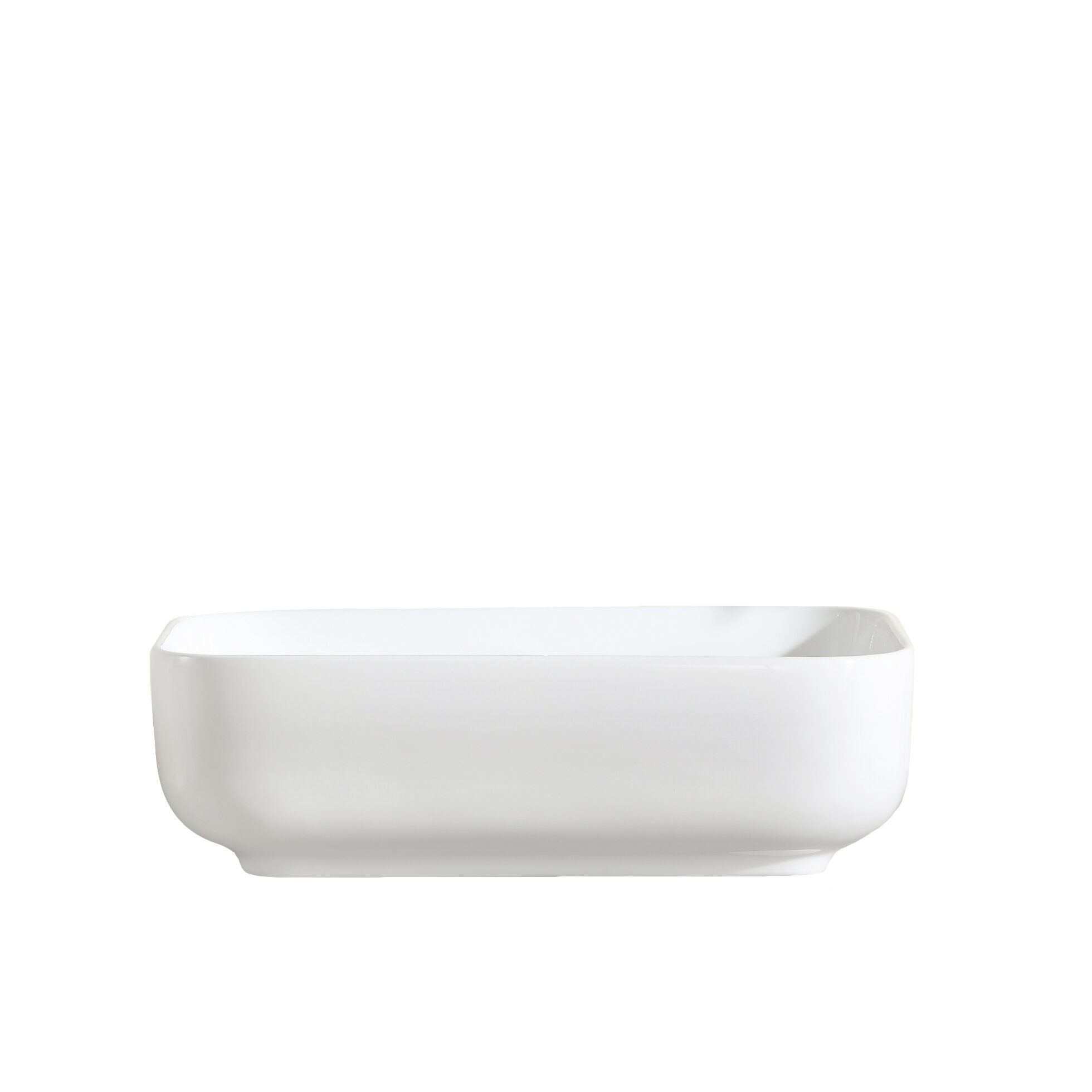 Thin Sink : Fine Fixtures Vitreous China Thin Edge Vessel Sink Wayfair