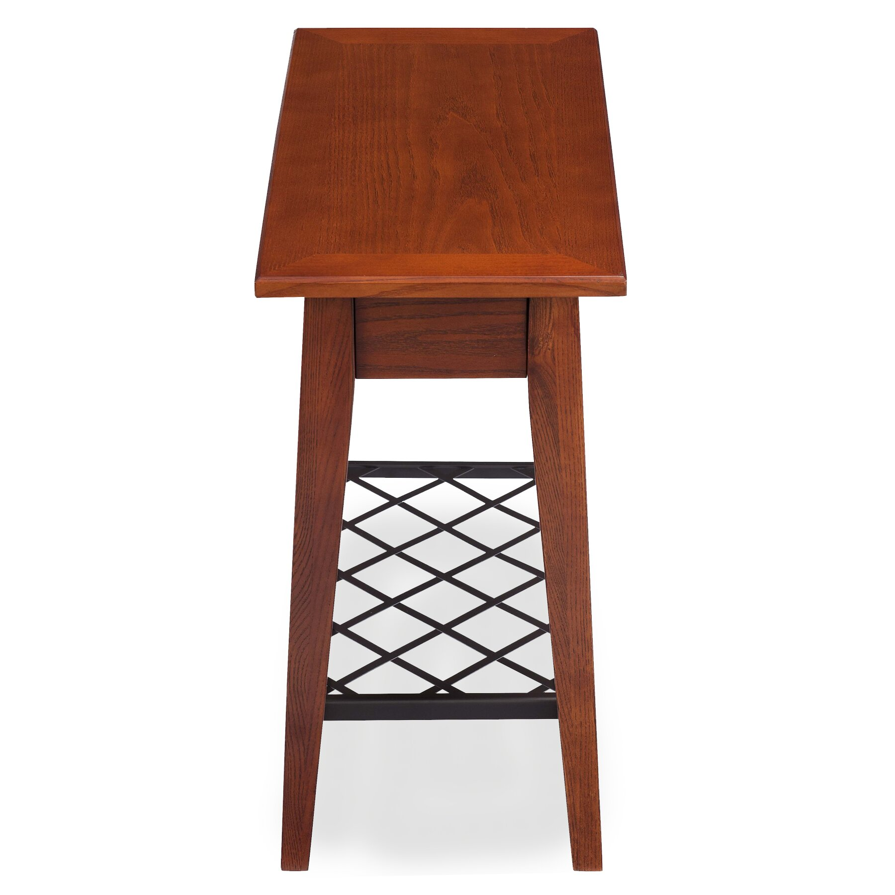 Leick latisse chairside table reviews wayfair for Chairside table