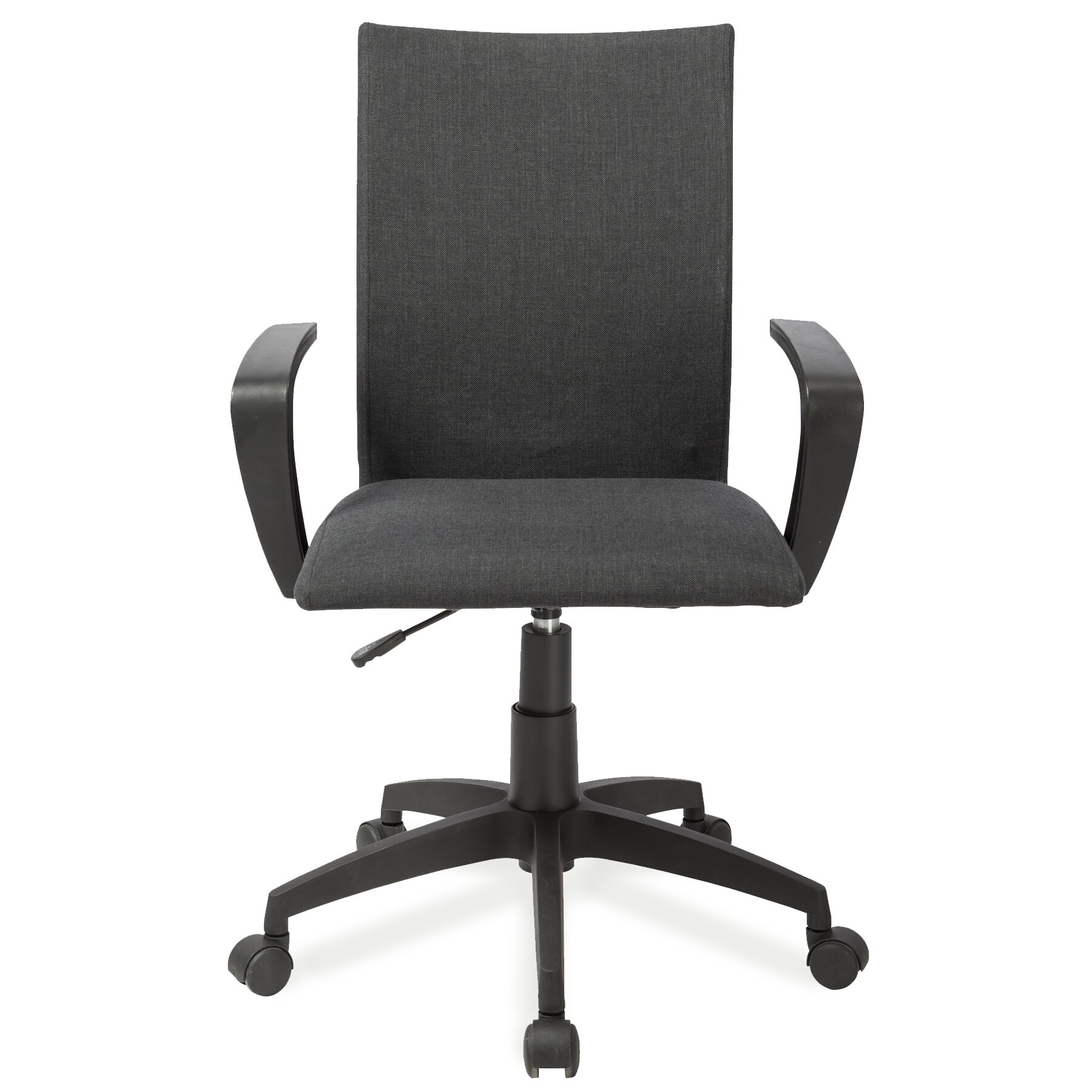 Leick high back office chair with arms reviews wayfair for Furniture 2 day shipping