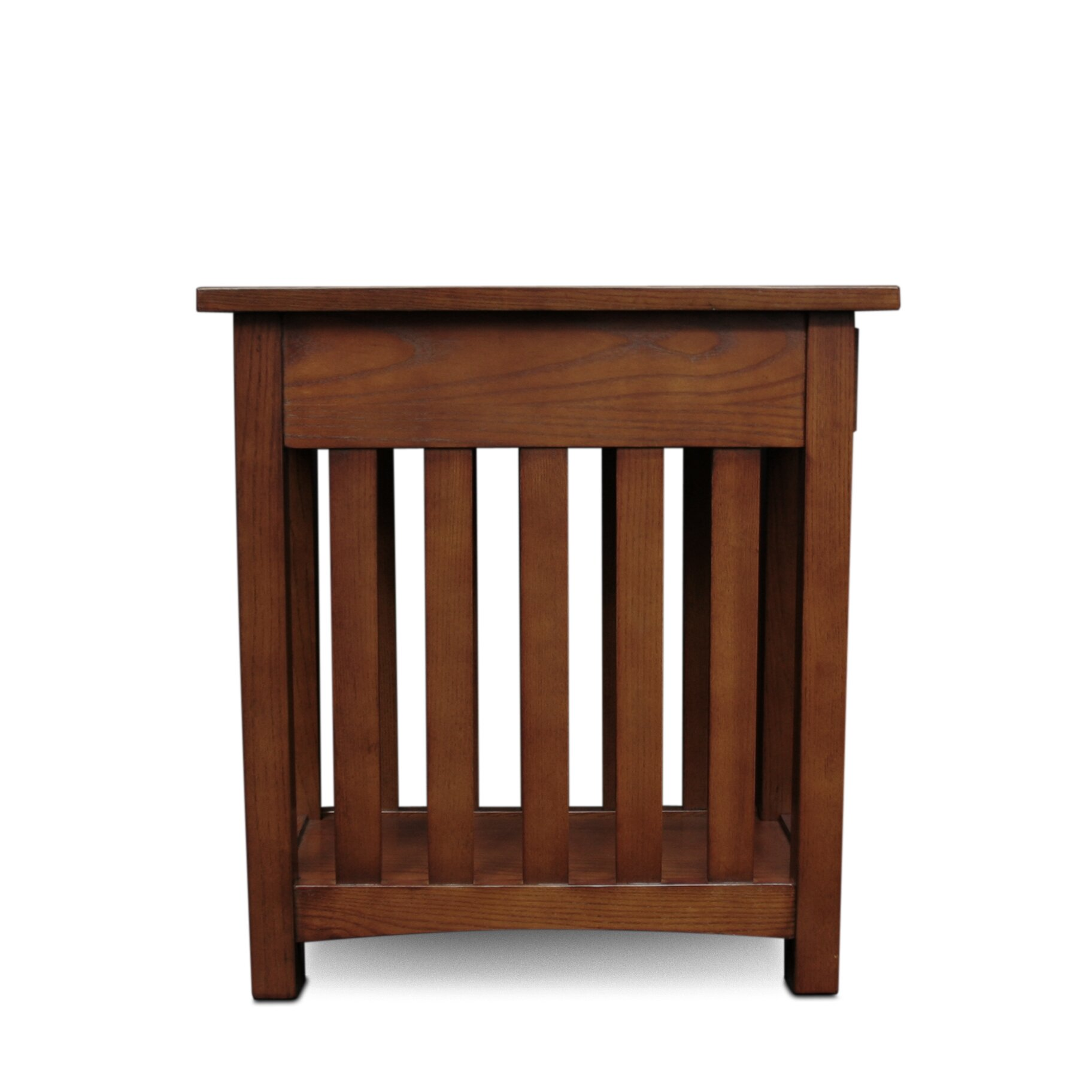 Leick mission impeccable end table reviews wayfair for Mission furniture