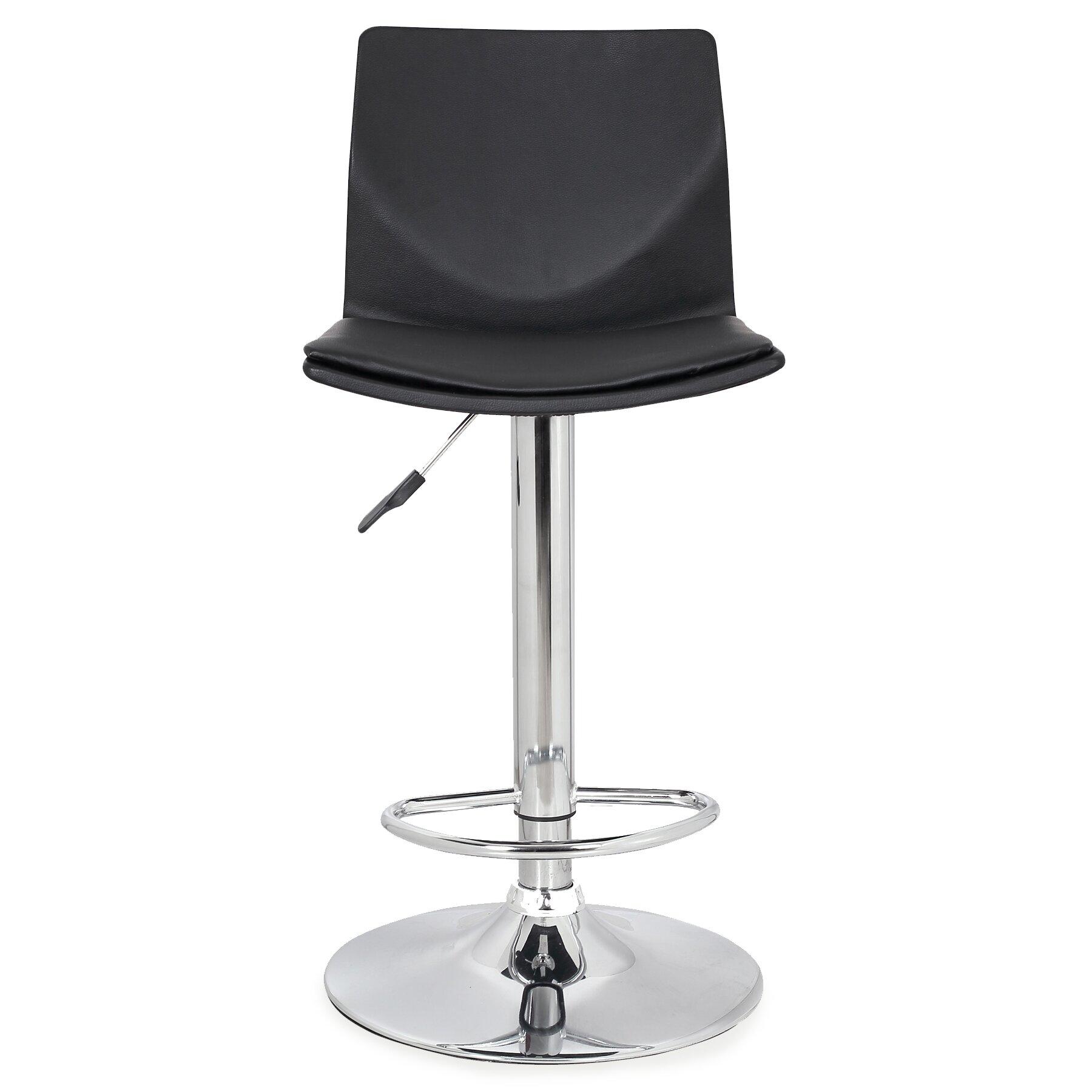 Leick Adjustable Height Swivel Bar Stool Wayfair