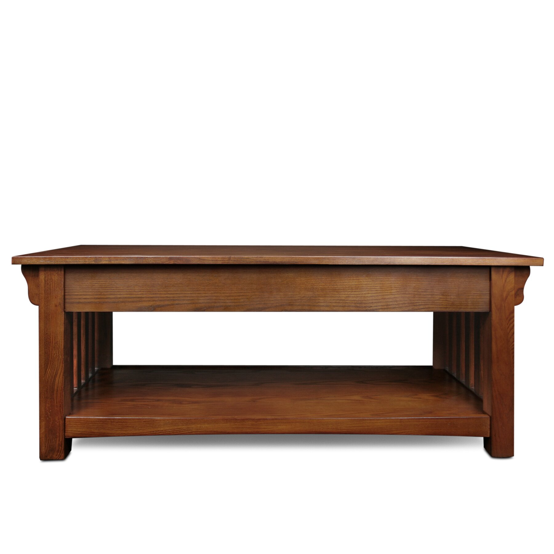 Leick mission impeccable coffee table reviews wayfair for Mission furniture