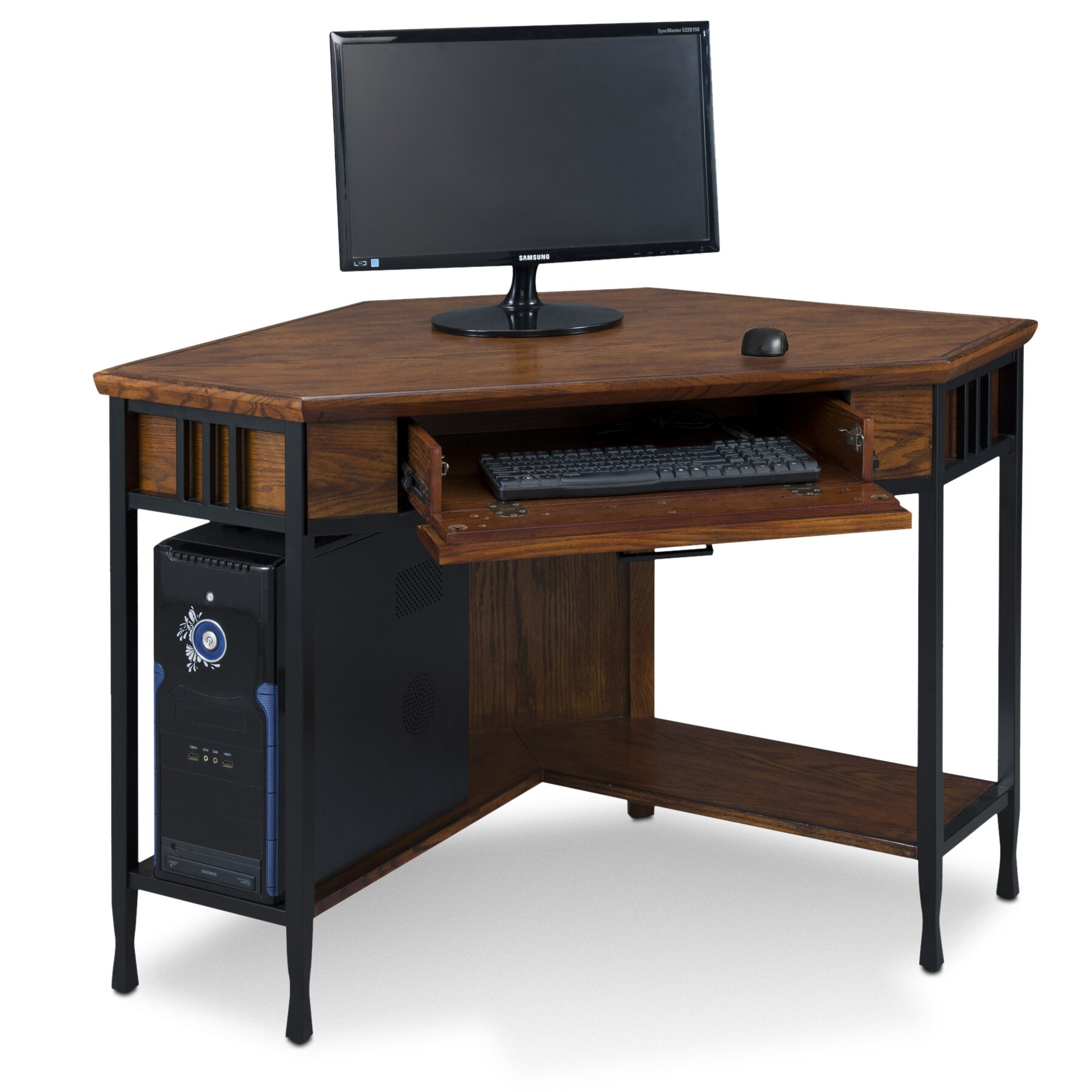 Leick Ironcraft Computer Desk Amp Reviews Wayfair Ca