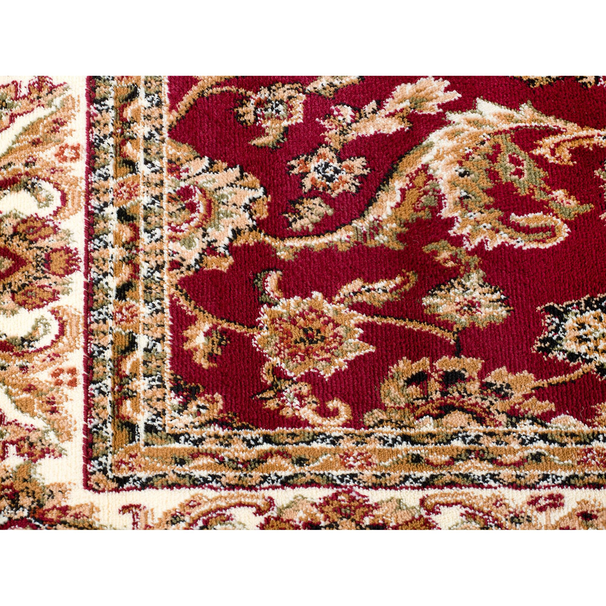 Rug And Decor Inc. Summit Brown/Burgundy Area Rug