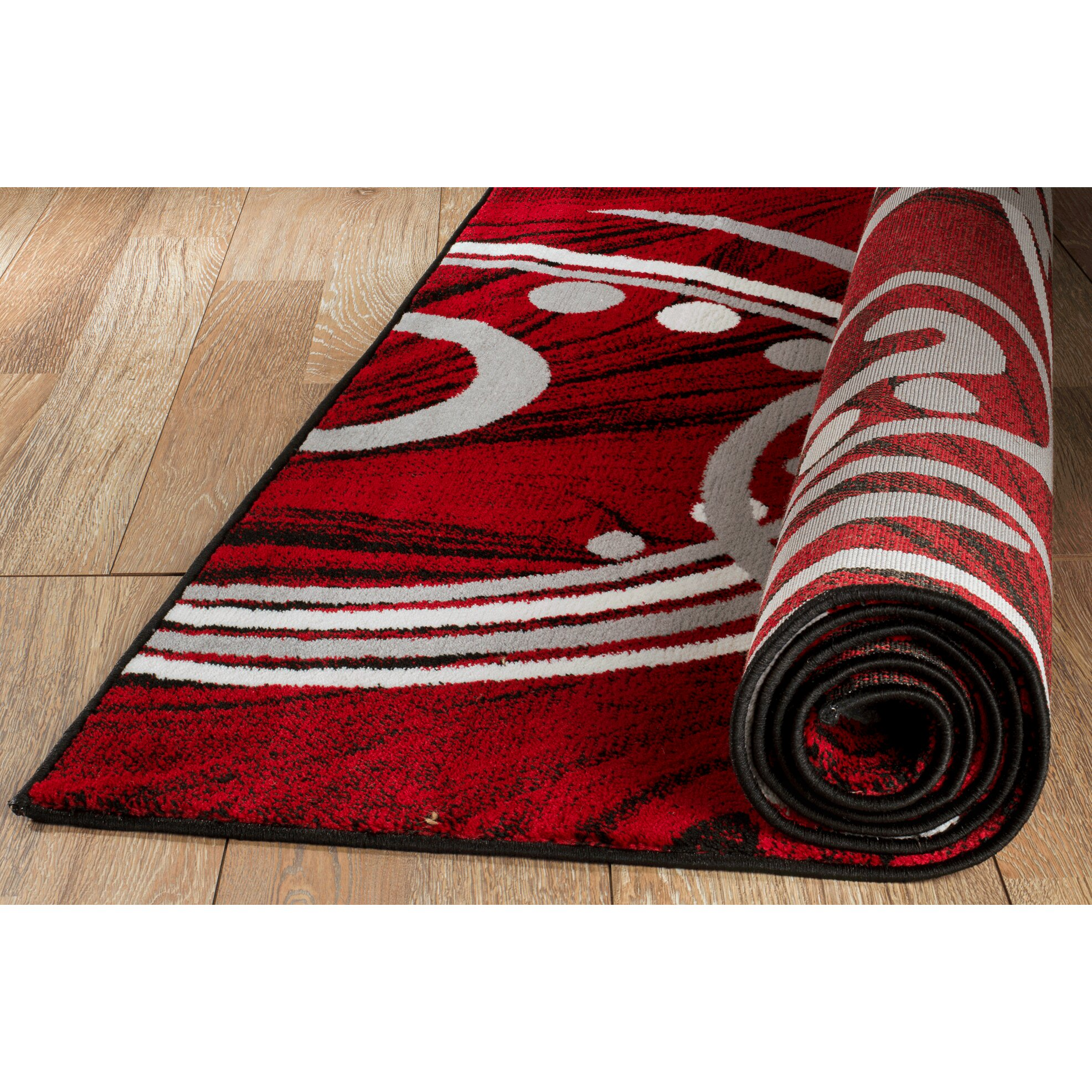 Rug And Decor Inc. Summit Elite Red Area Rug & Reviews