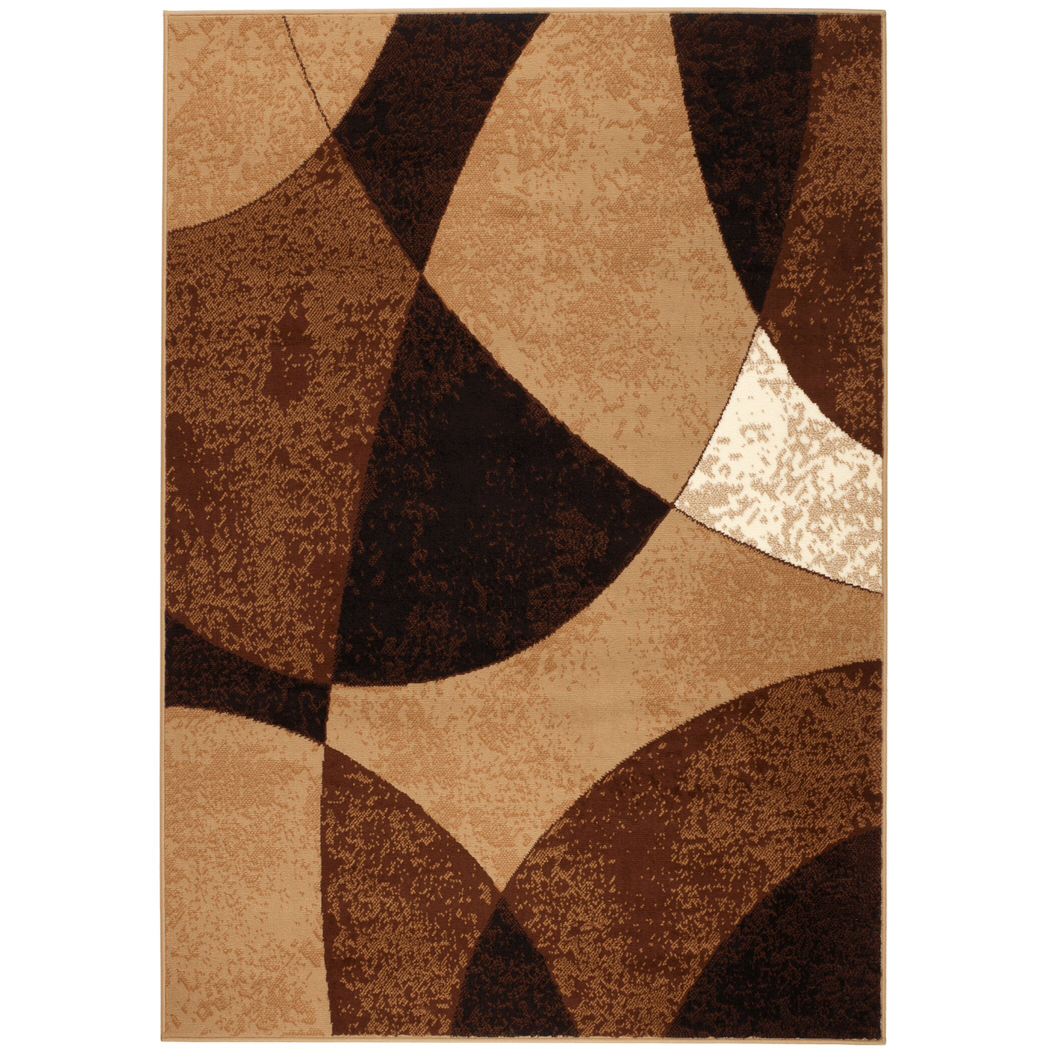 Rug And Decor Inc Chateau Beige Brown Area Rug Amp Reviews