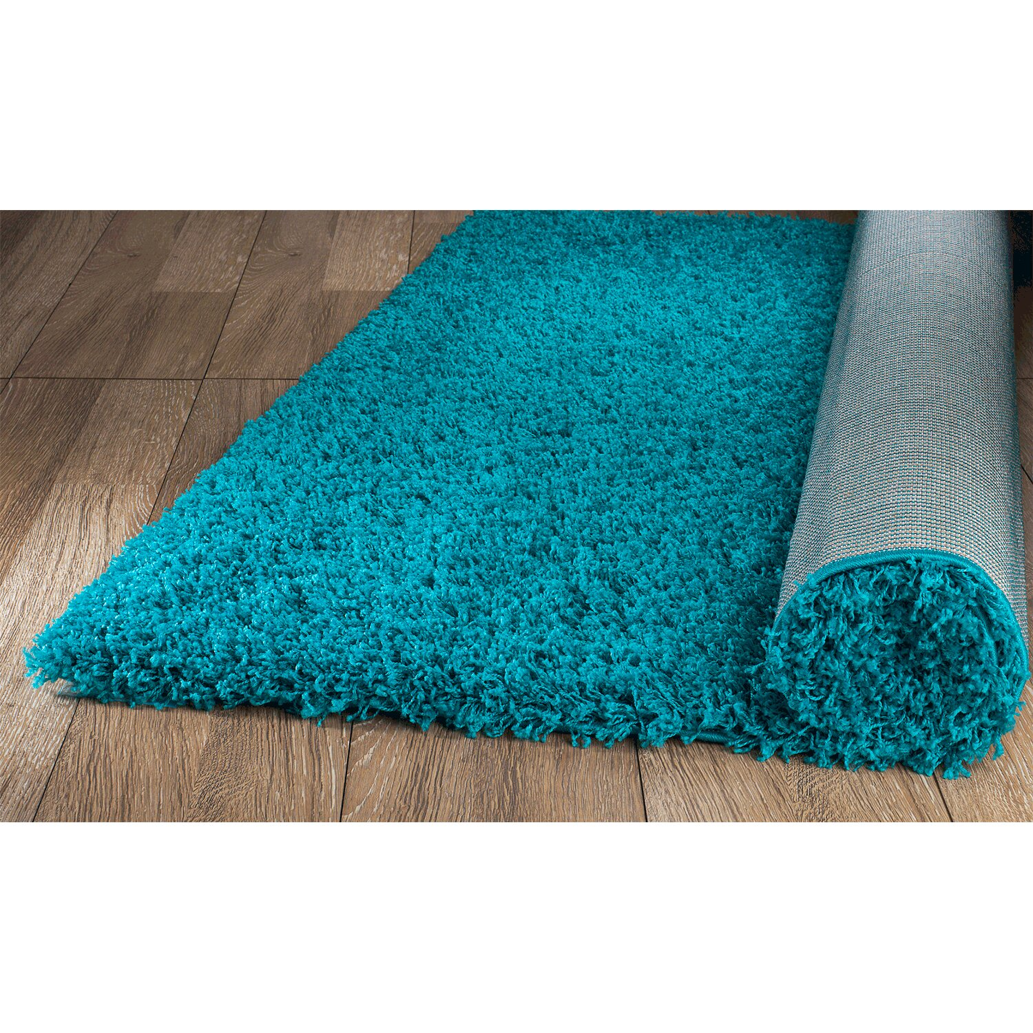 Rug And Decor Inc. Supreme Teal Area Rug & Reviews