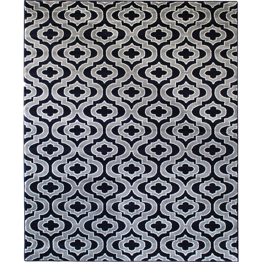 Rug And Decor Inc. Summit Elite Navy Blue/Gray Area Rug