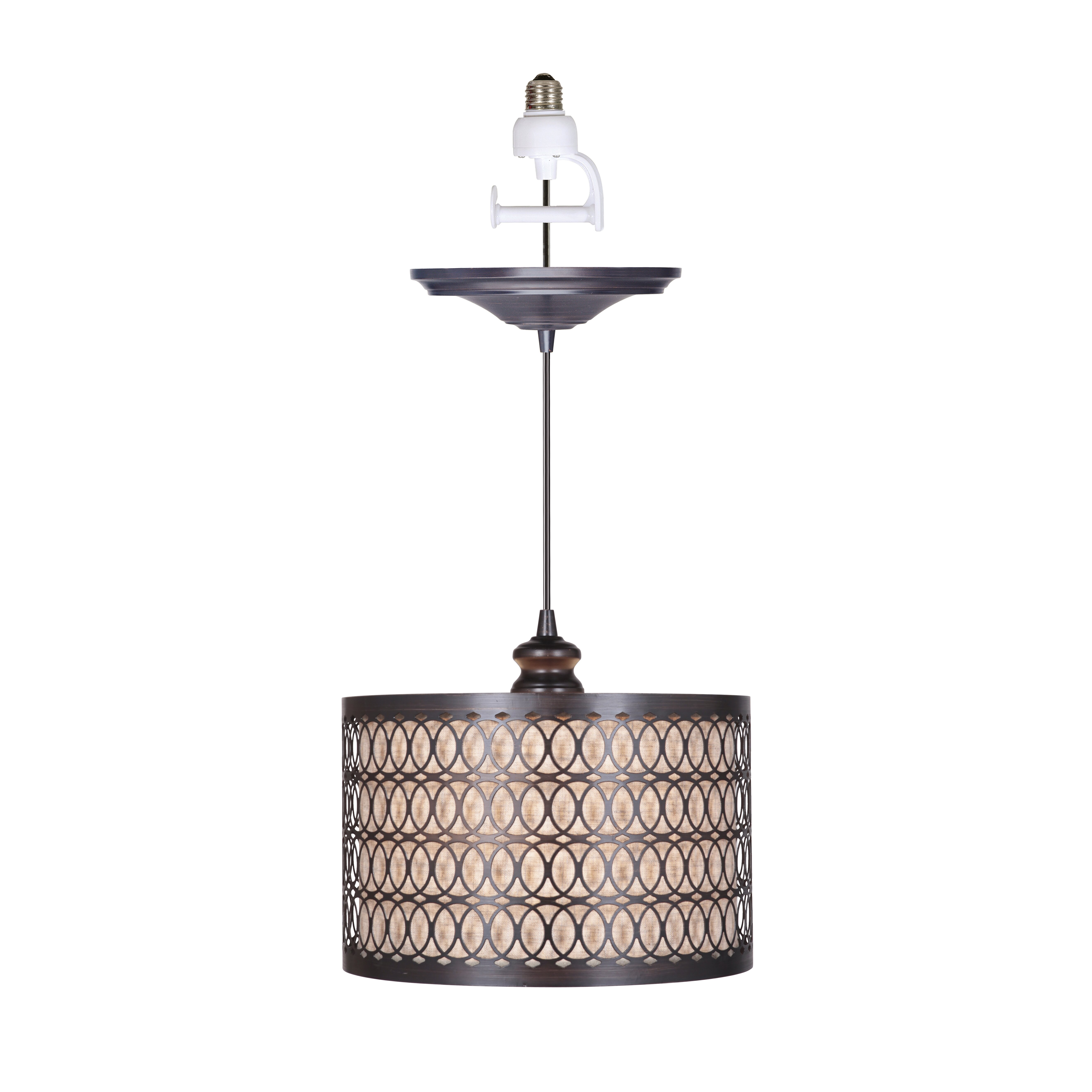 worthhomeproducts instant 1 light drum pendant reviews