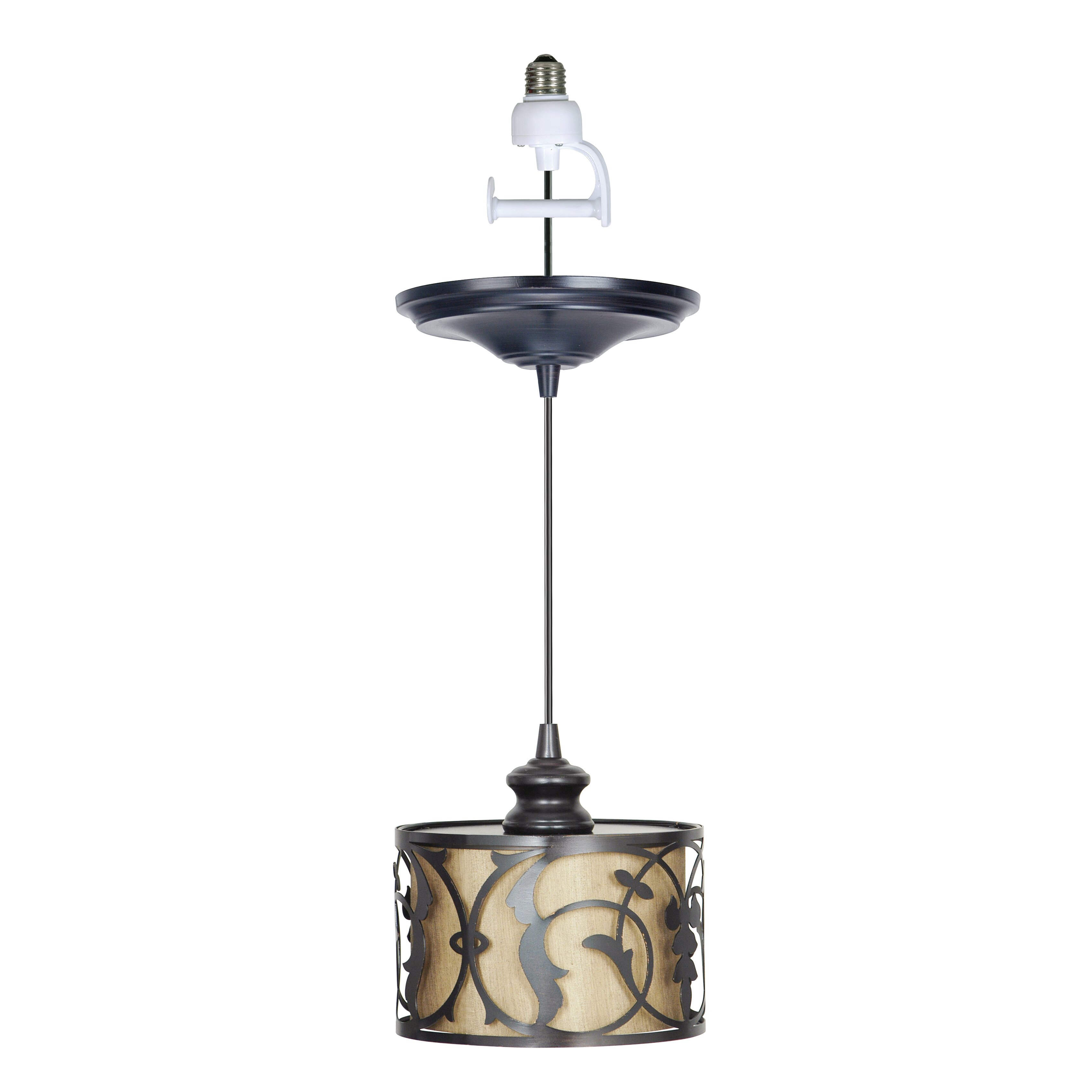 Pendant lights for recessed cans : Recessed light pendant worth home products pbn instant