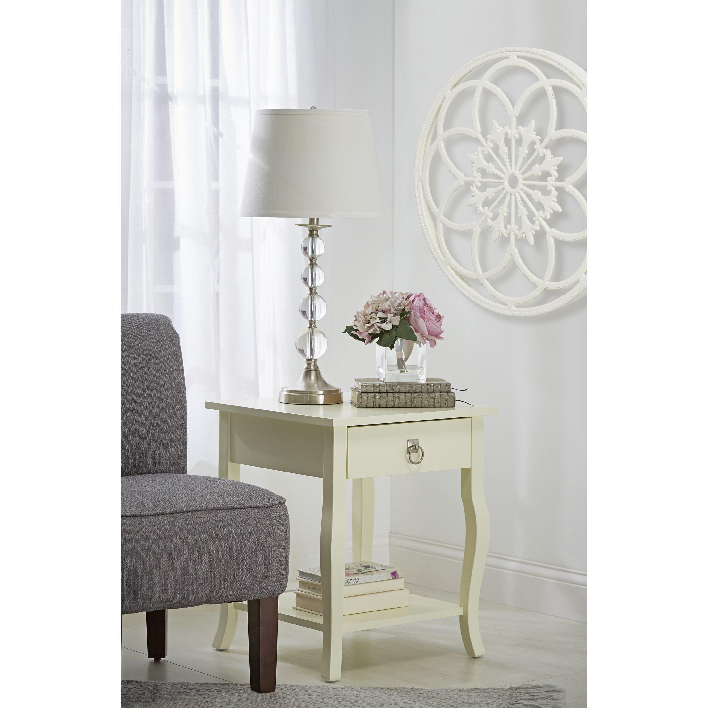 kate and laurel ondelette ornate wood round wall d cor wayfair. Black Bedroom Furniture Sets. Home Design Ideas