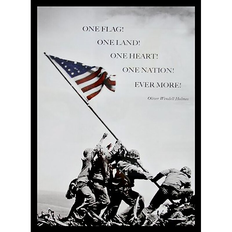 Buy Art For Less Raising The Flag At Iwo Jima Quote By