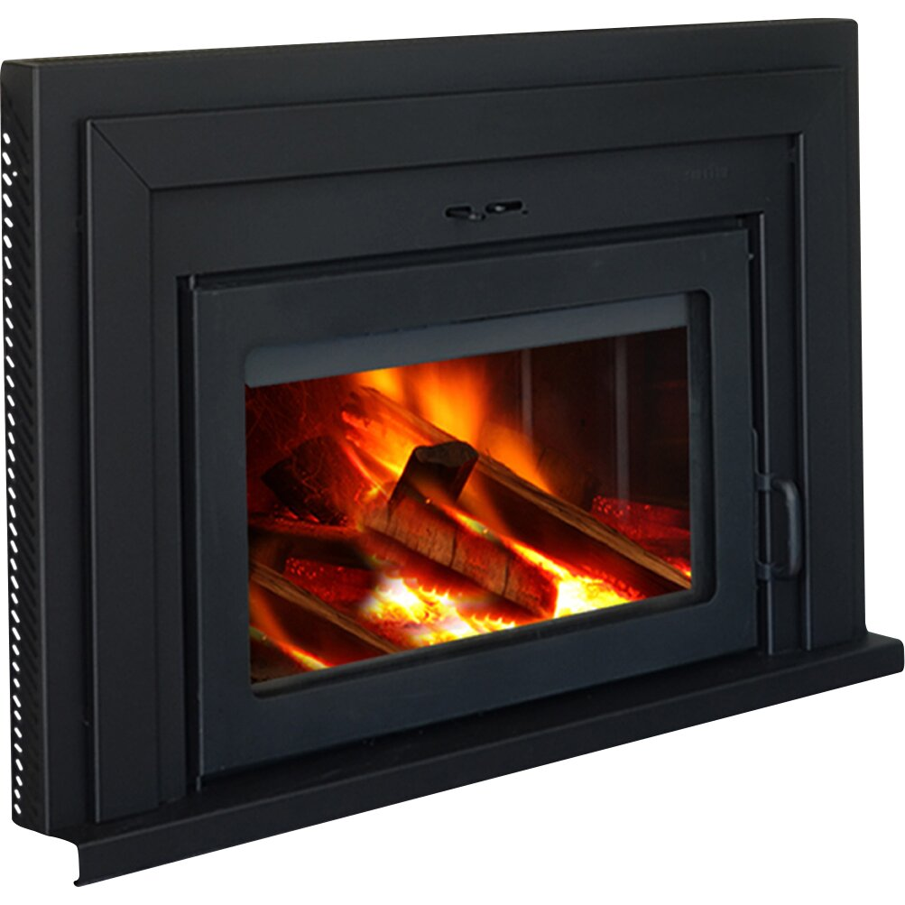Supreme Fireplaces Inc. Fusion Wall Mount Wood Burning ...
