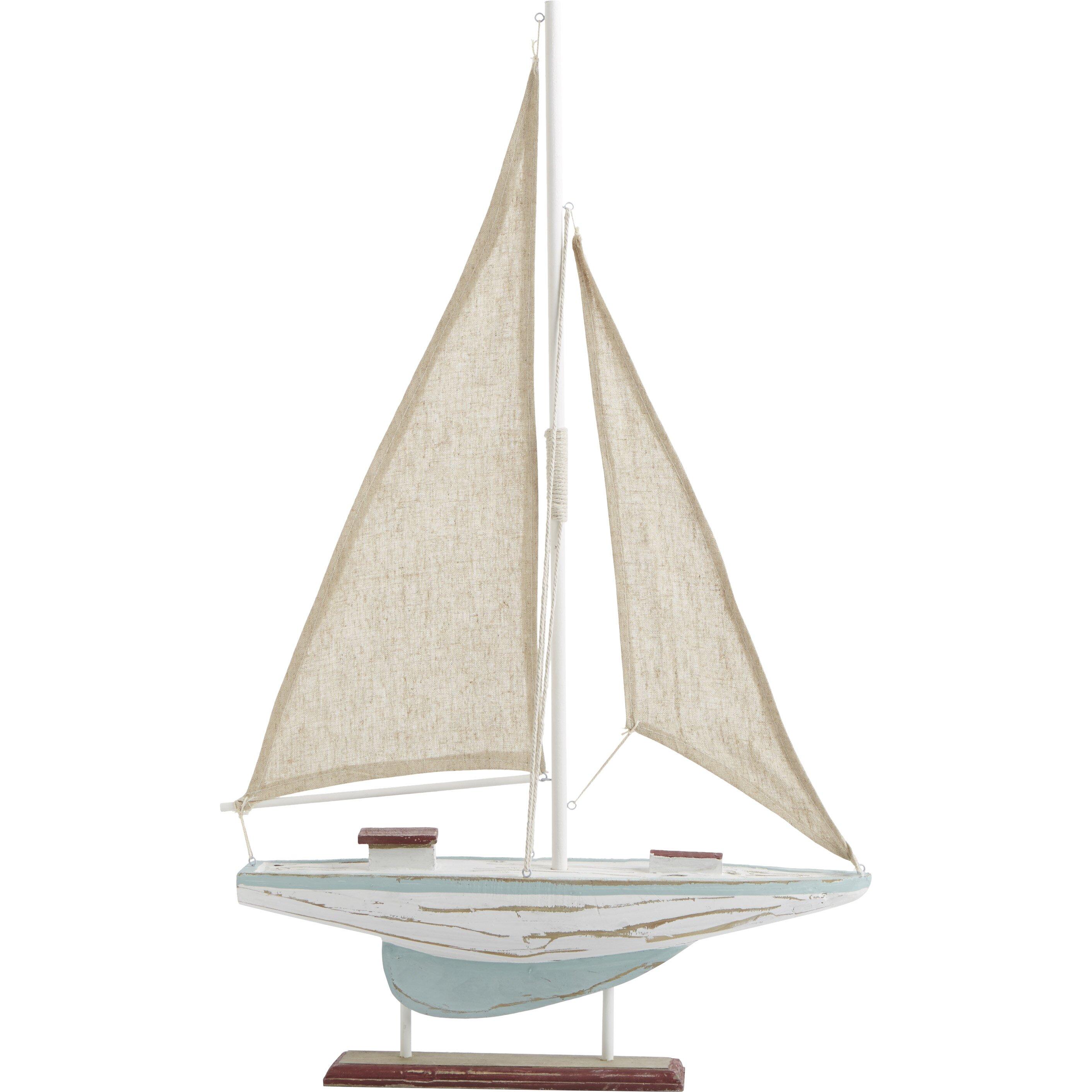 Breakwater Bay Dockyard Sailboat D Cor Reviews Wayfair