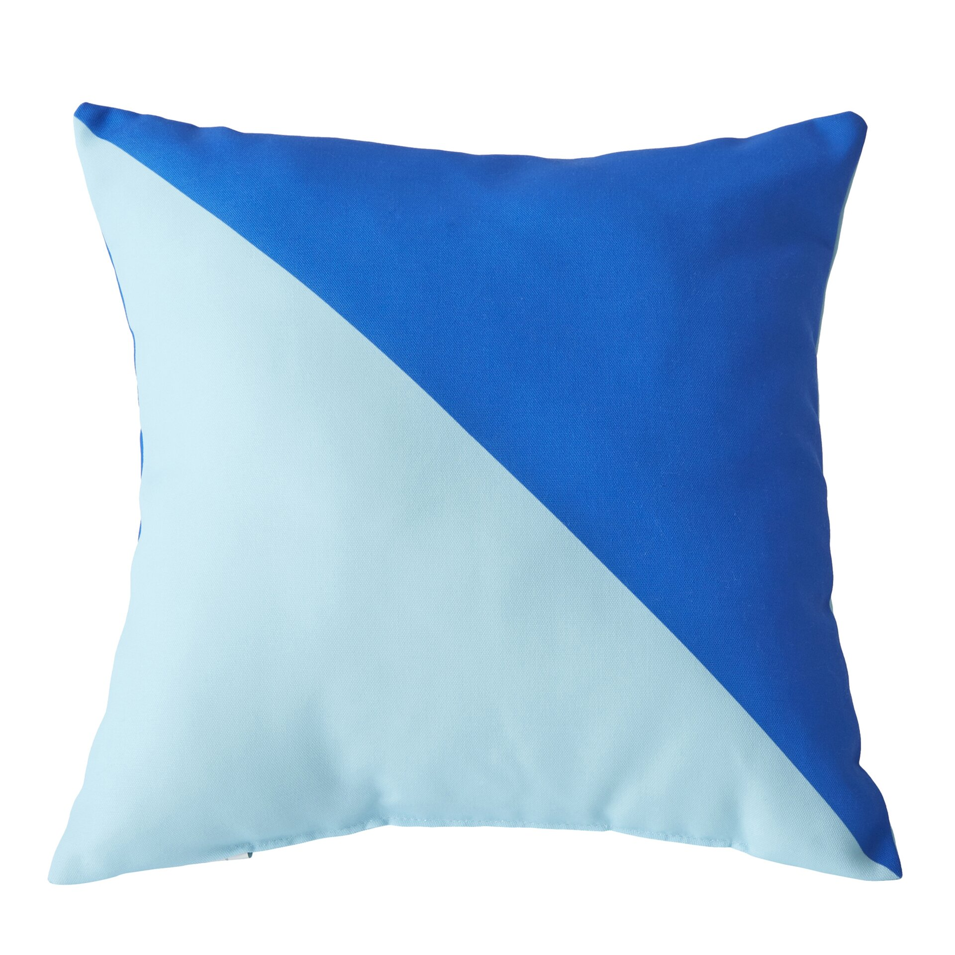 Throw Pillows The Bay : Breakwater Bay Cristina Split Colour Outdoor Throw Pillow & Reviews Wayfair.ca