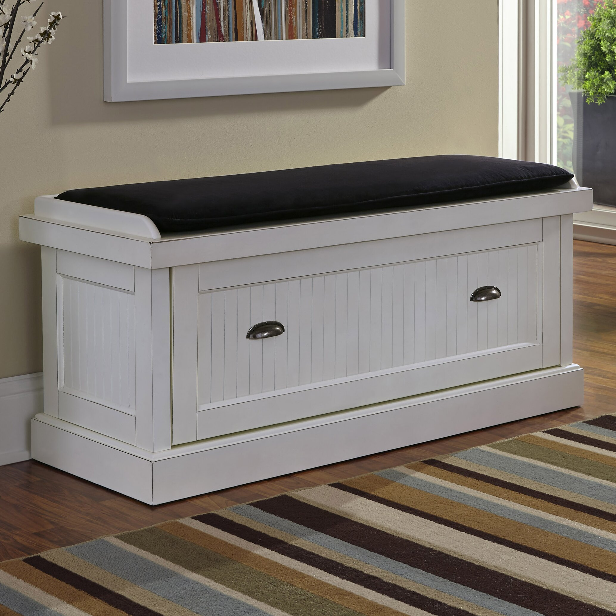Breakwater Bay Gouldsboro Upholstered Entryway Bench