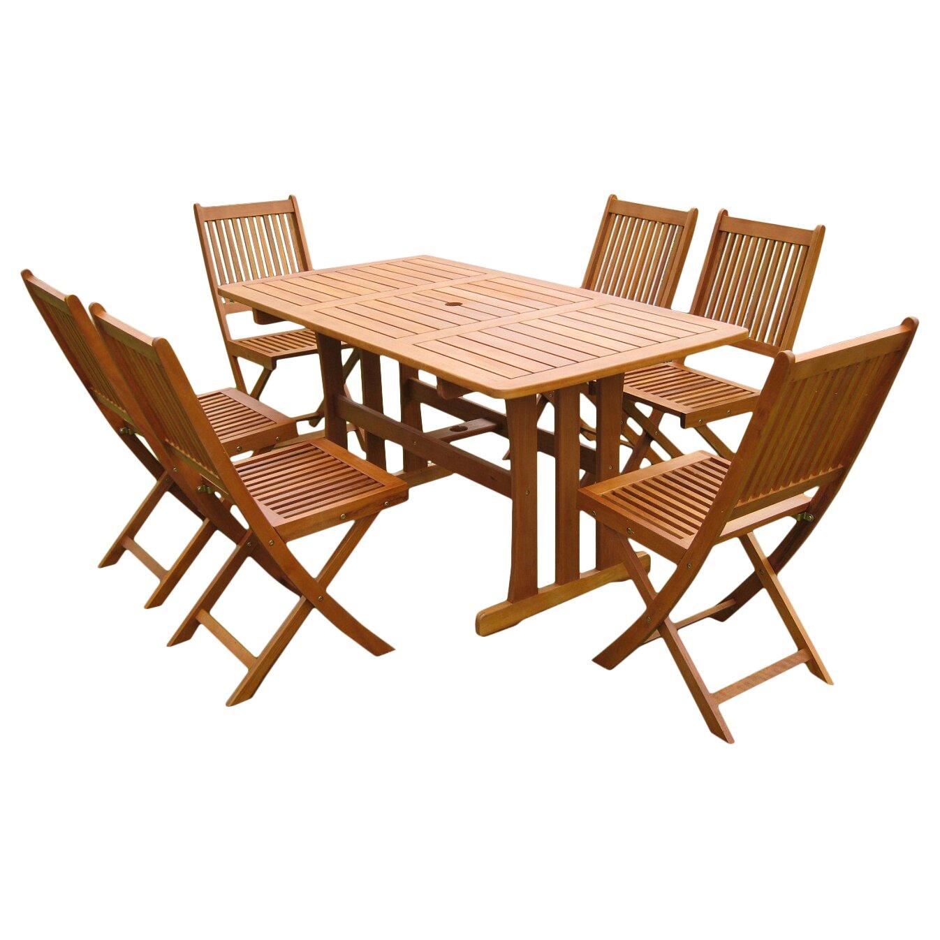 Breakwater bay sabbattus piece outdoor dining set