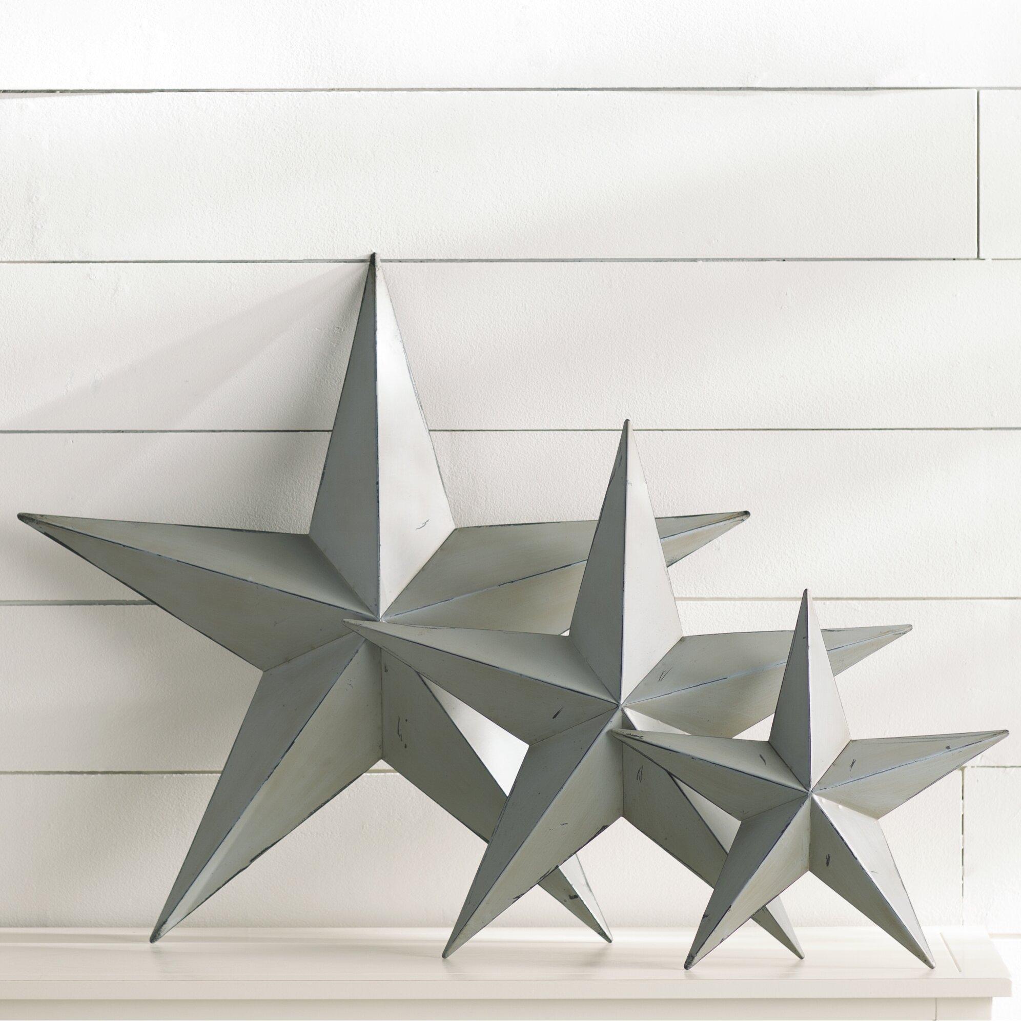 Glass Star Wall Decor : Breakwater bay gunwhale piece wall d?cor set reviews