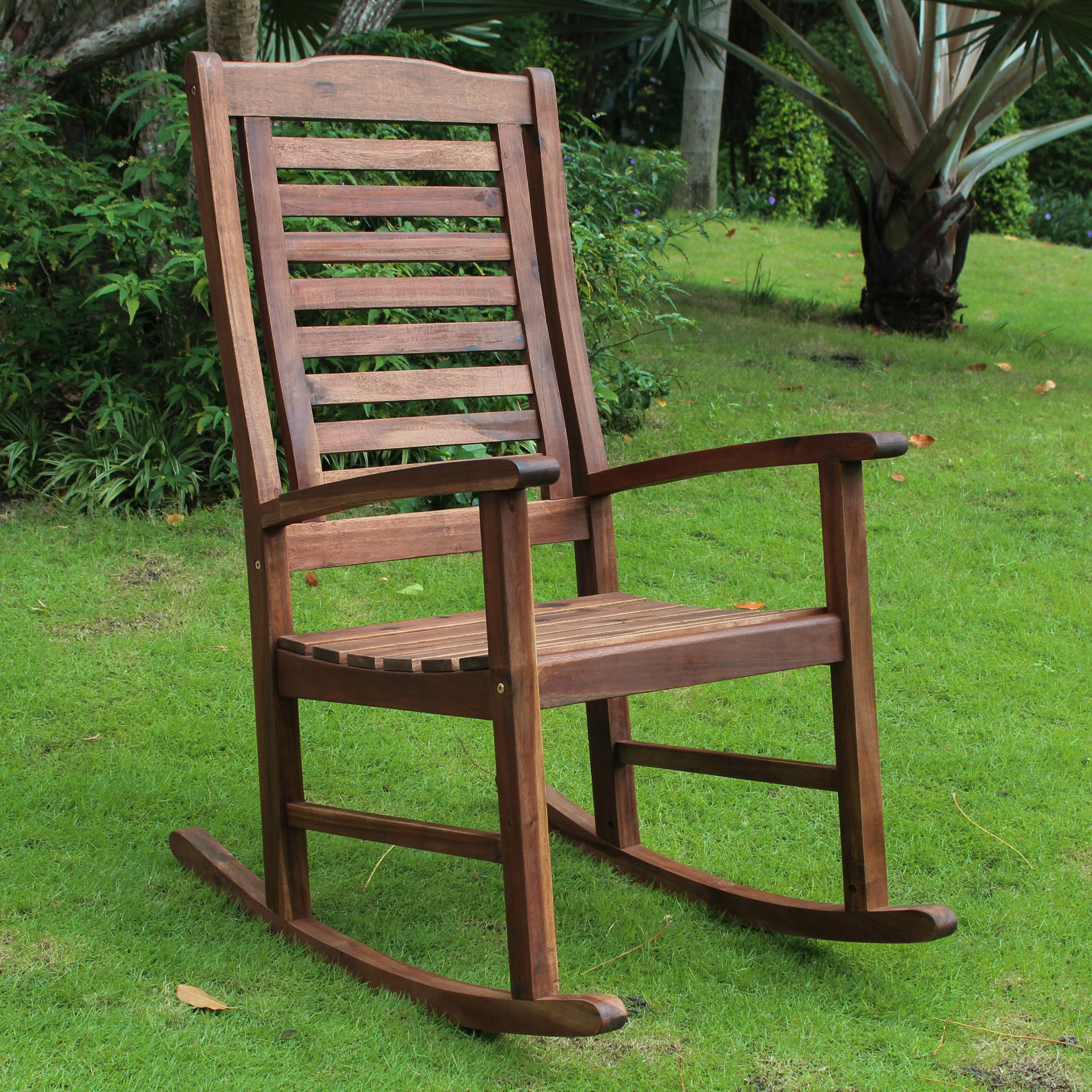Breakwater Bay Sandy Point Contemporary Outdoor Rocking Chair & Reviews