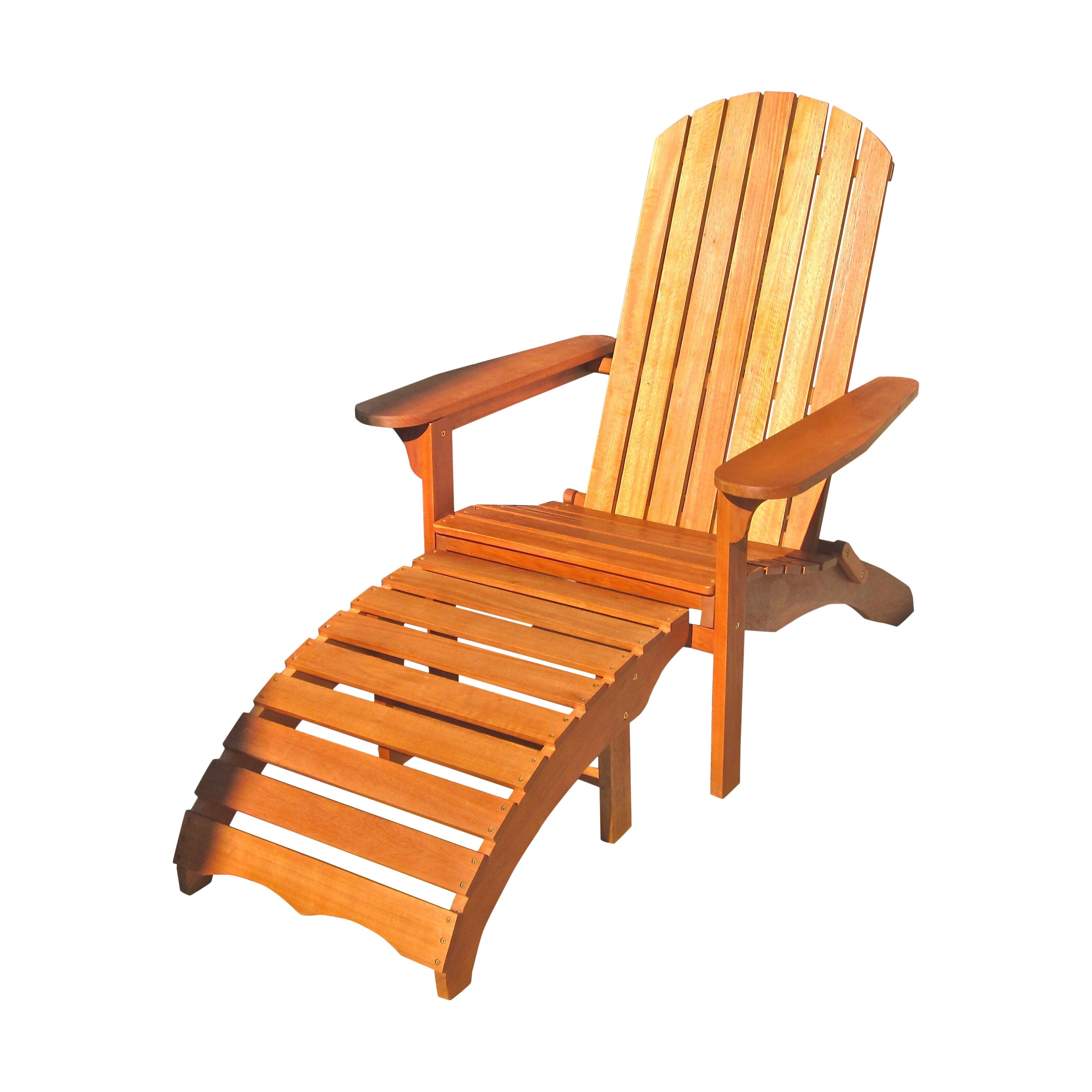 Breakwater Bay Sabbattus Adirondack Chair with Footrest & Reviews