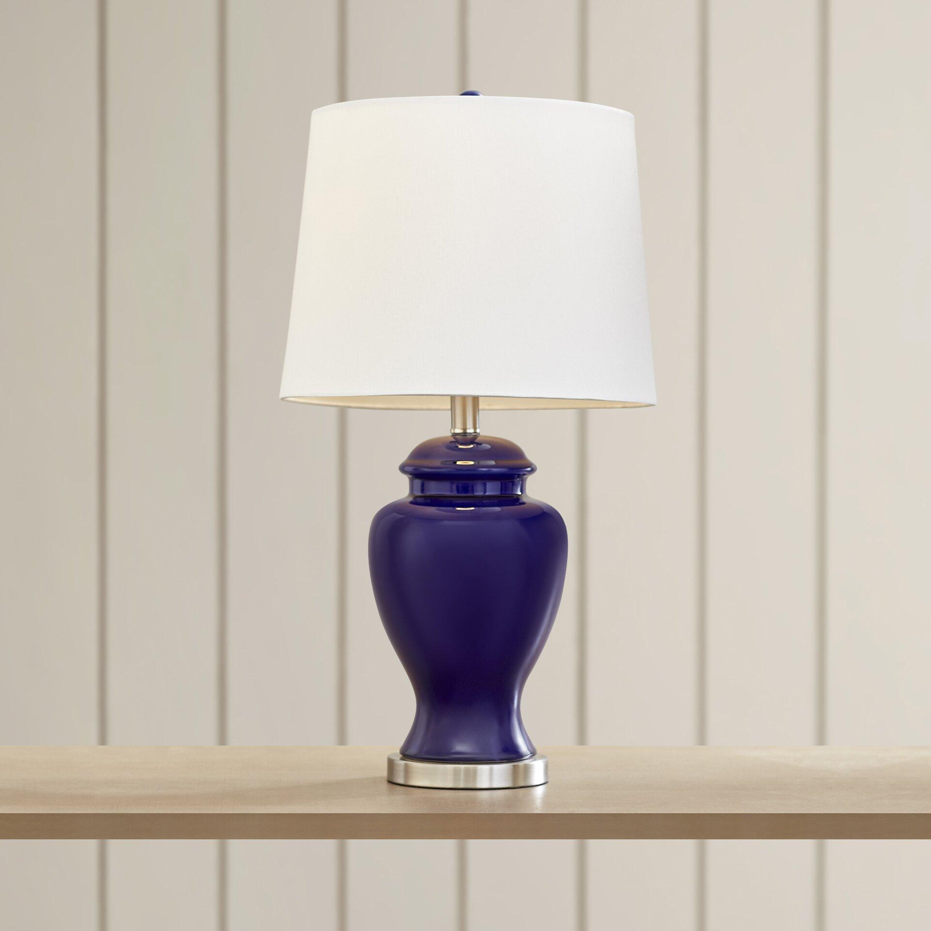 breakwater bay staytonville 24 table lamp reviews wayfair. Black Bedroom Furniture Sets. Home Design Ideas
