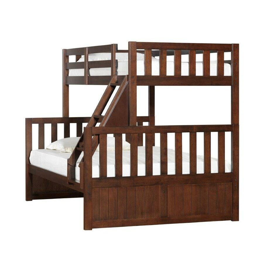 breakwater bay simmons casegoods mission hills twin over full bunk bed reviews wayfair. Black Bedroom Furniture Sets. Home Design Ideas