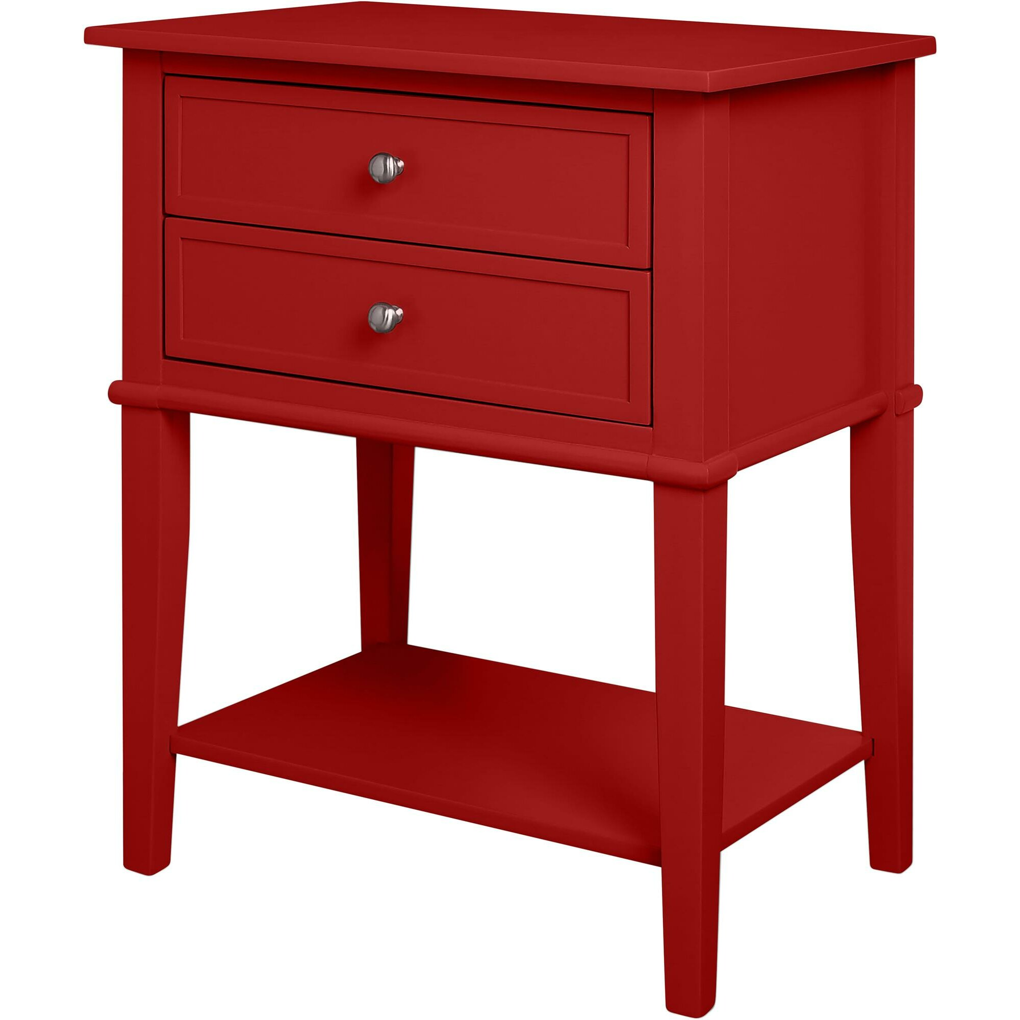 Breakwater bay banbury 2 drawer end table reviews wayfair for End tables with drawers