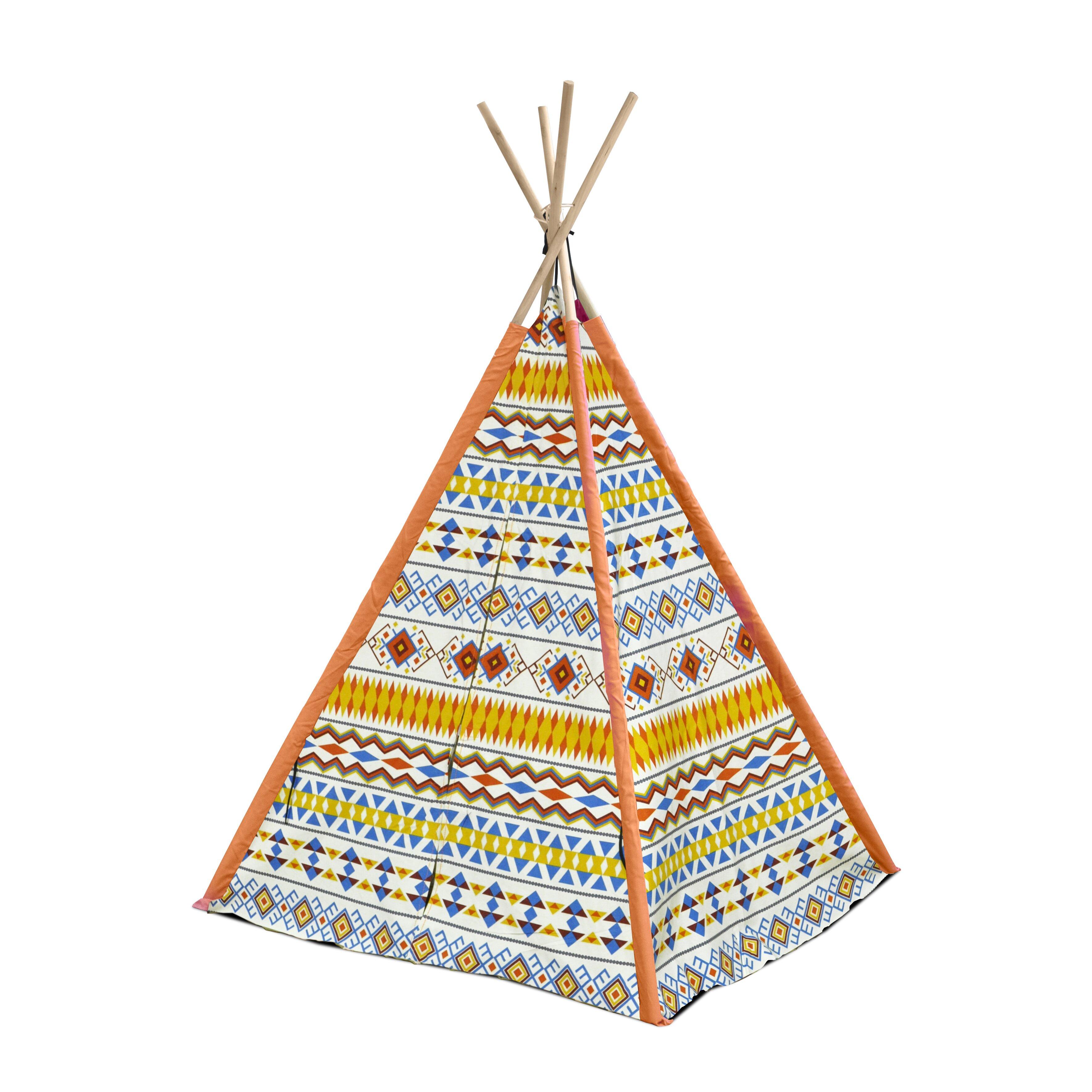 Heritage Kids Aztec Tribal Kid Play Teepee Reviews Wayfair