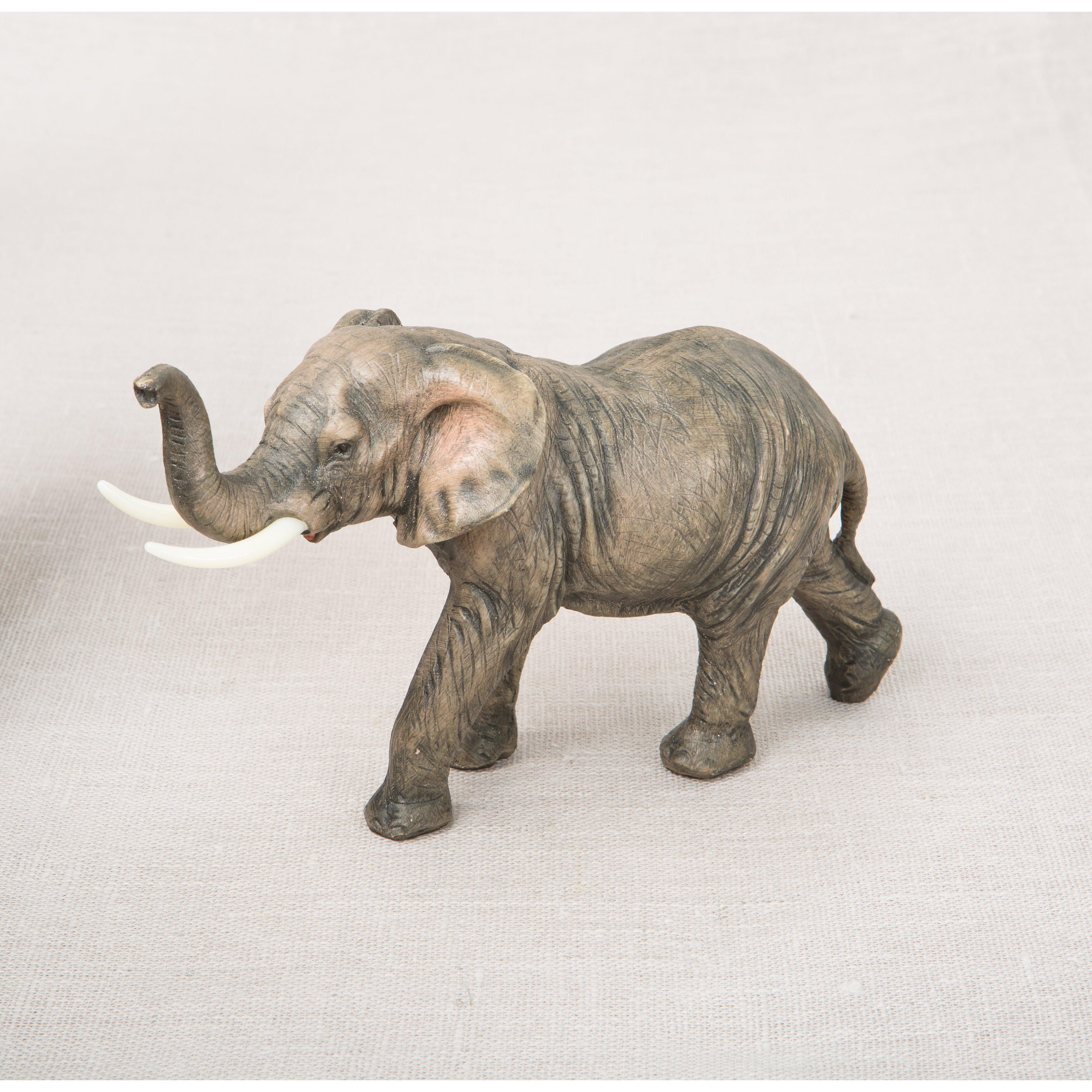 fashioncraft natural looking elephant figurine. Black Bedroom Furniture Sets. Home Design Ideas