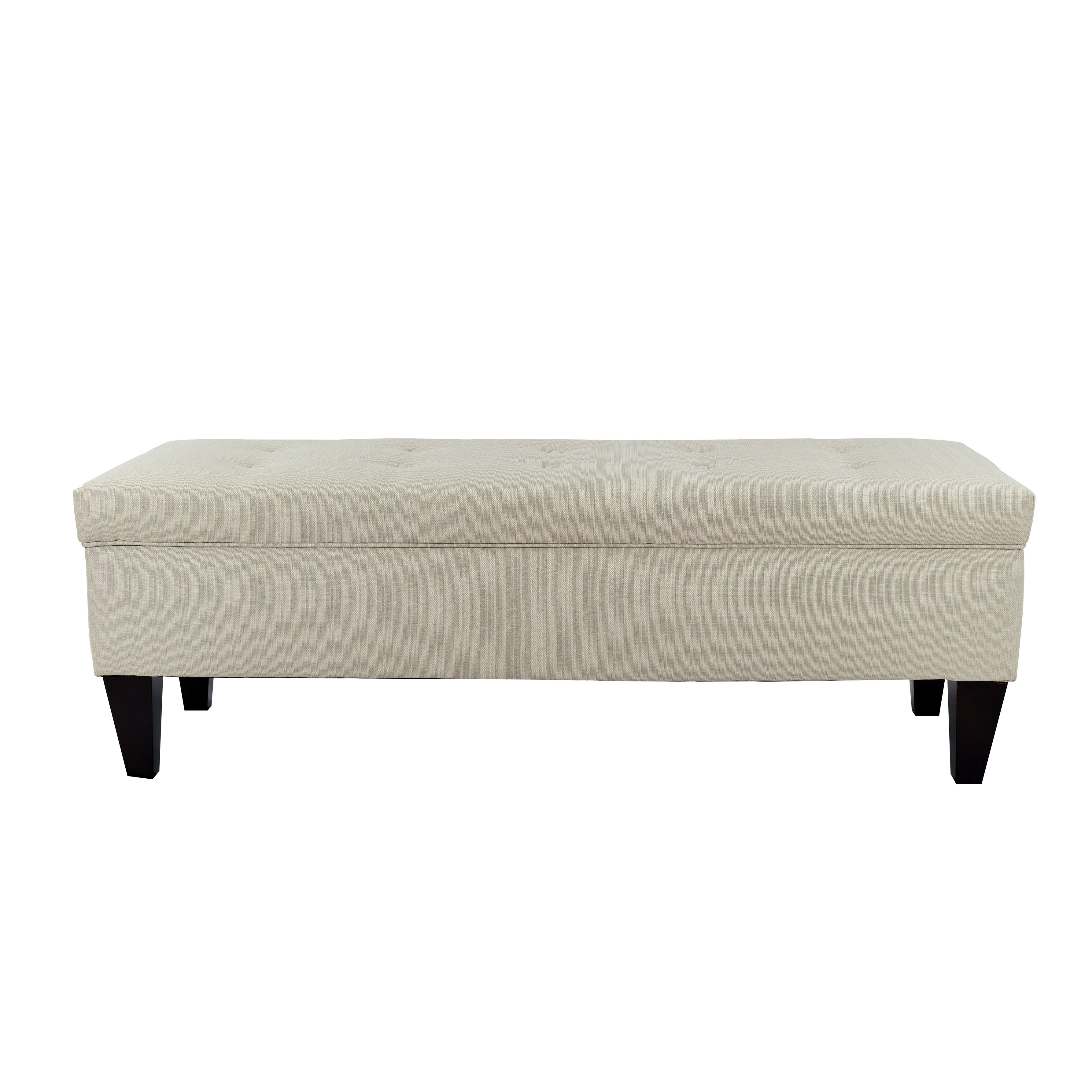 Mjlfurniture Sachi Upholstered Storage Bench Reviews Wayfair