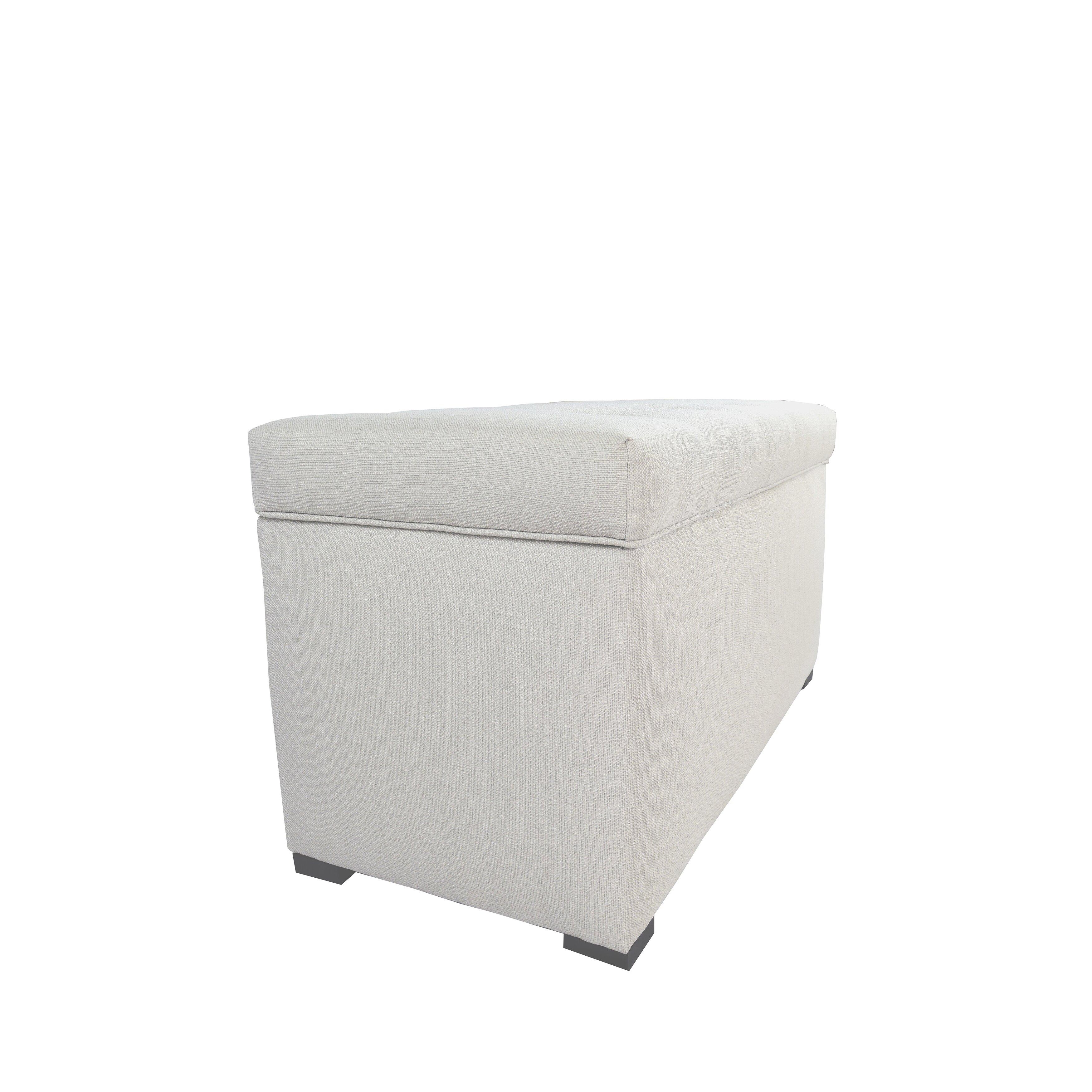 Mjlfurniture Angela Upholstered Storage Bench Reviews Wayfair
