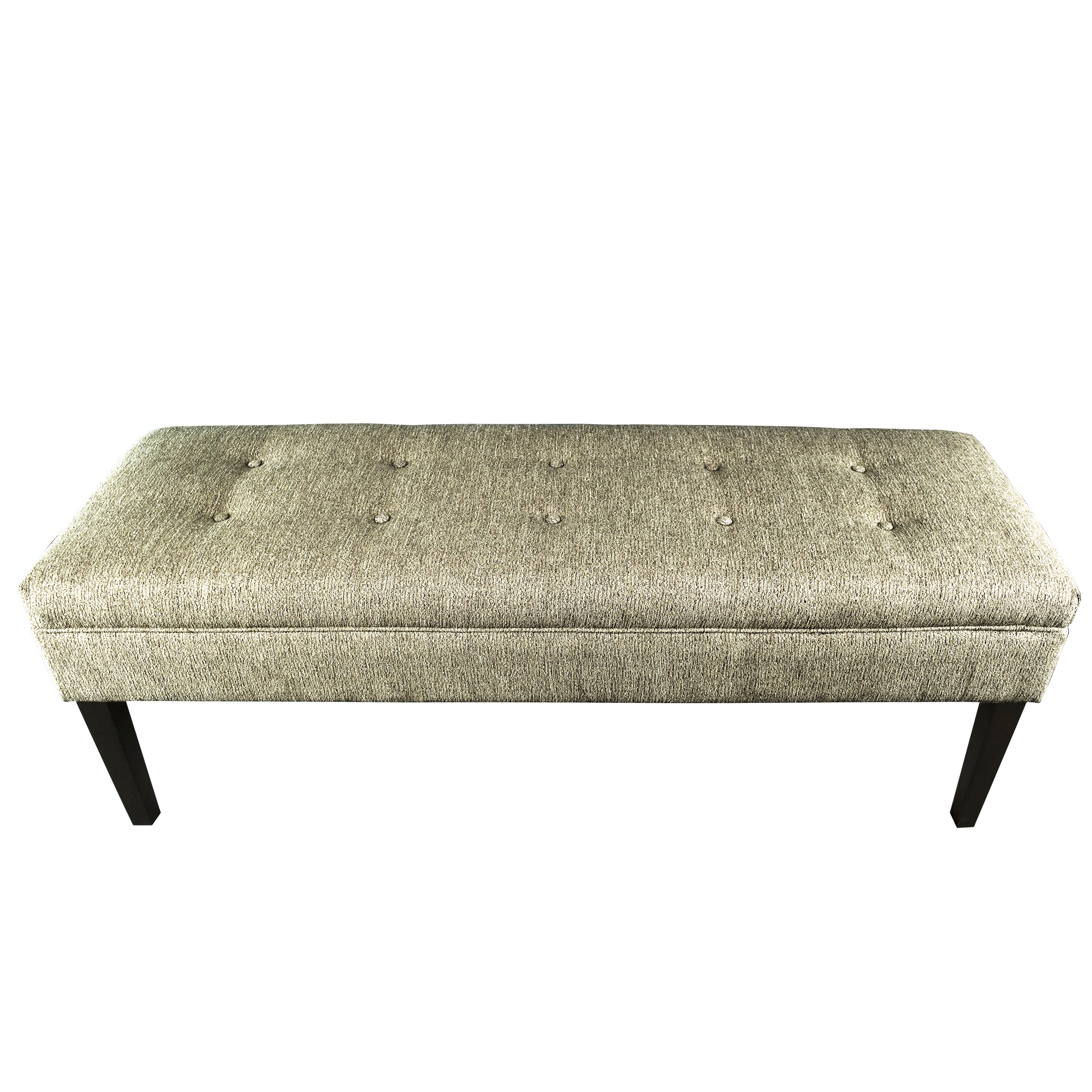Tufted Foyer Bench : Mjlfurniture kaya button tufted entryway bench reviews