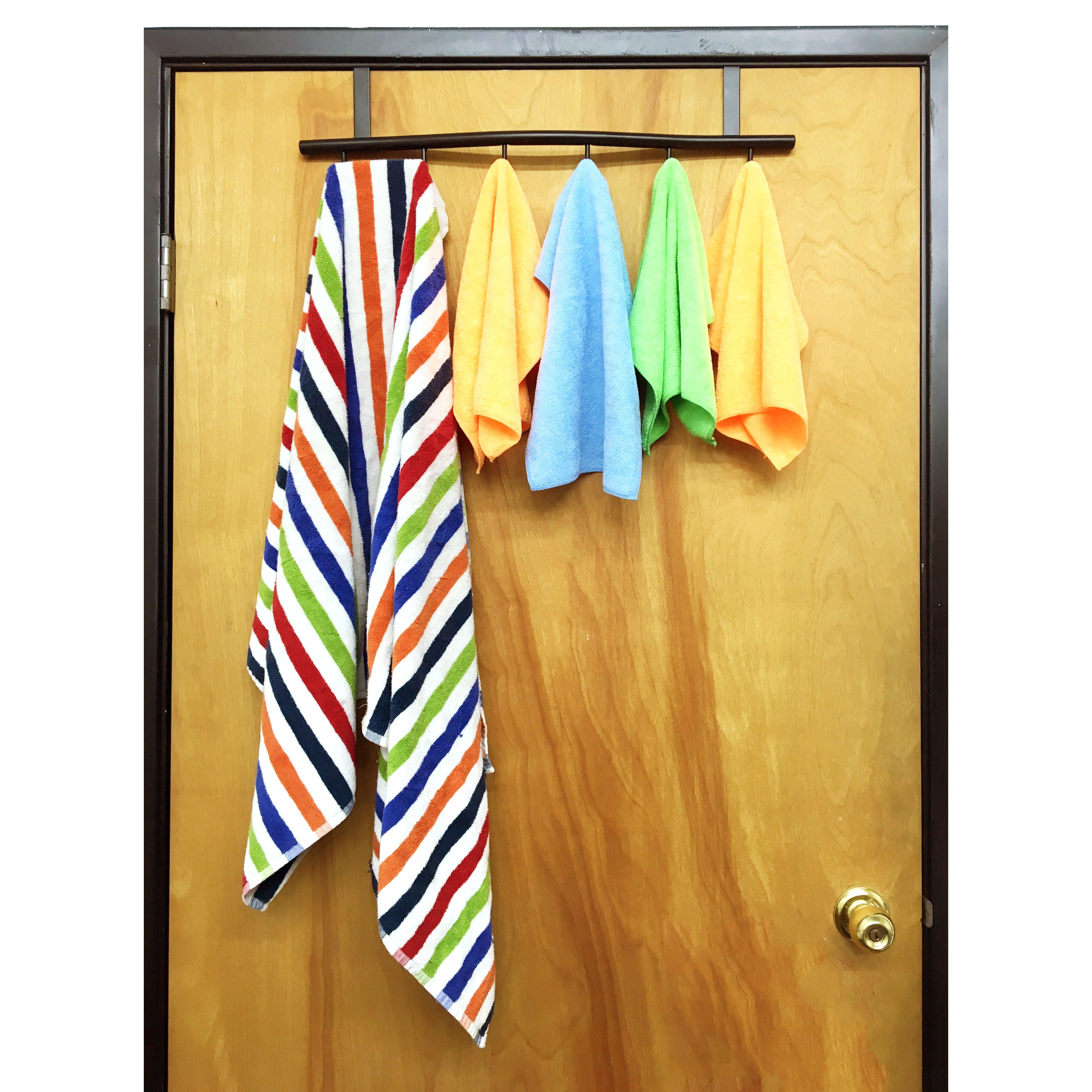 Sl decor over the door 6 hook wayfair for Above door decoration